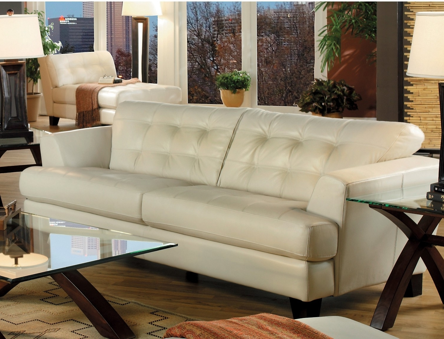 Home Regarding Trendy The Brick Leather Sofas (View 4 of 15)