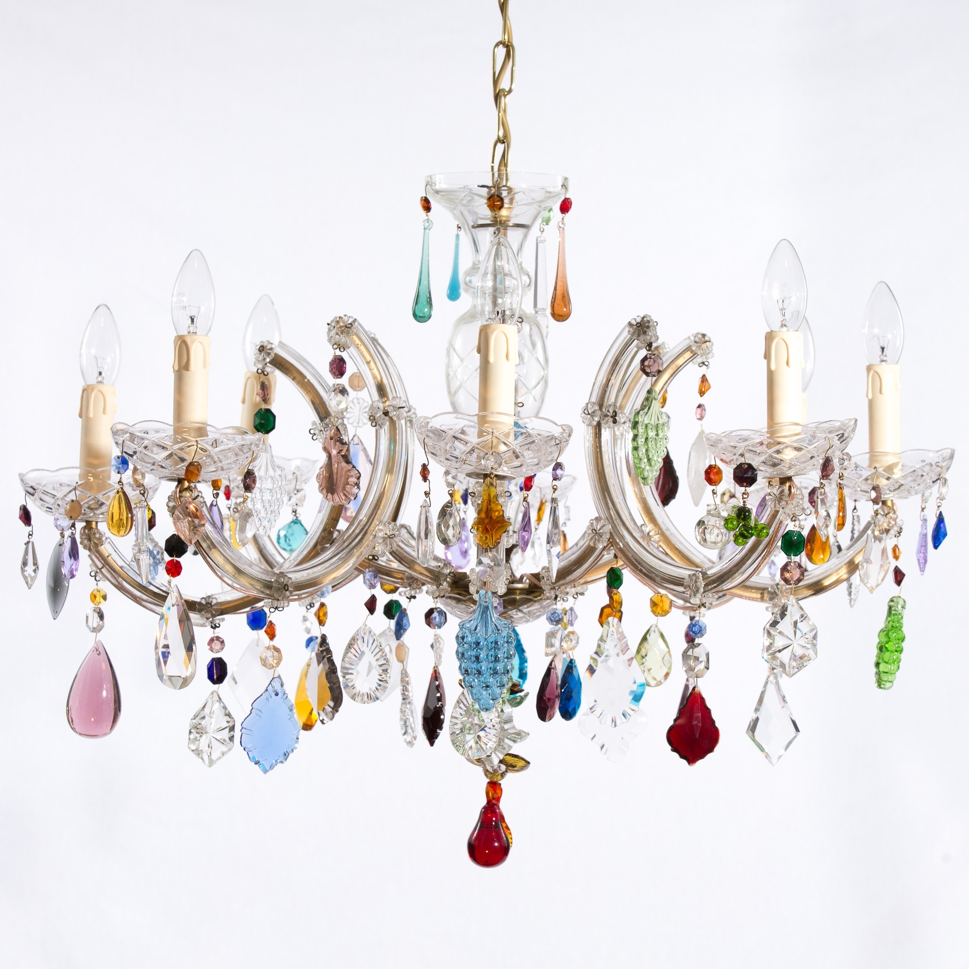 Honeybee Interiors Regarding Colourful Chandeliers (View 9 of 15)