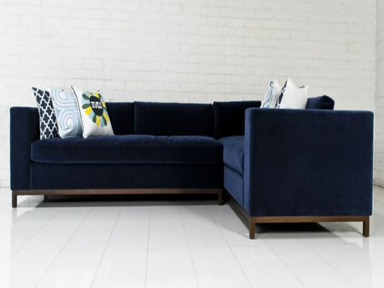Houzz Sectional Sofas Intended For Current Best Of Blue Velvet Sectional Sofa Interior Intended For Design  (View 10 of 15)