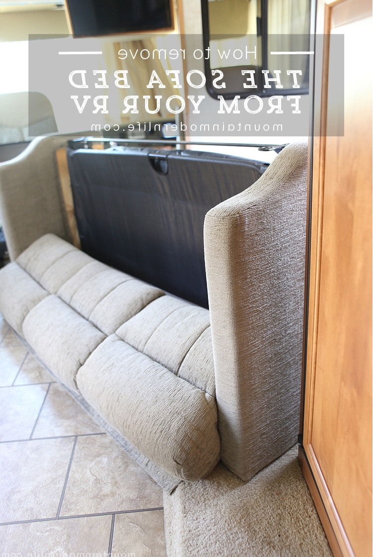 How To Remove The Sofa From Your Rv With Sectional Sofas For Campers (View 4 of 15)