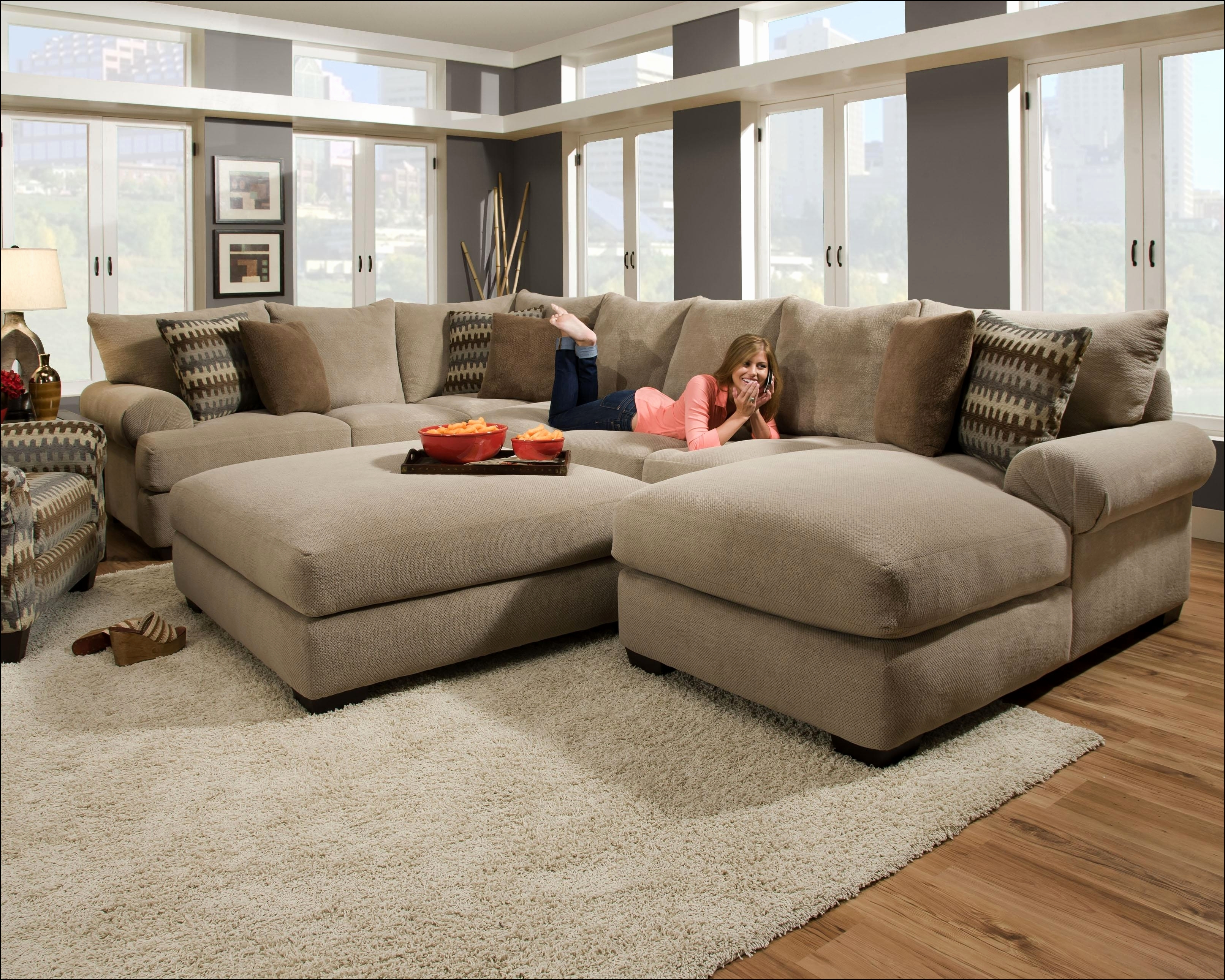 Huge Sofas Intended For Current Delightful Long Sofas Couches Snapshots – Seatersofa (View 6 of 15)