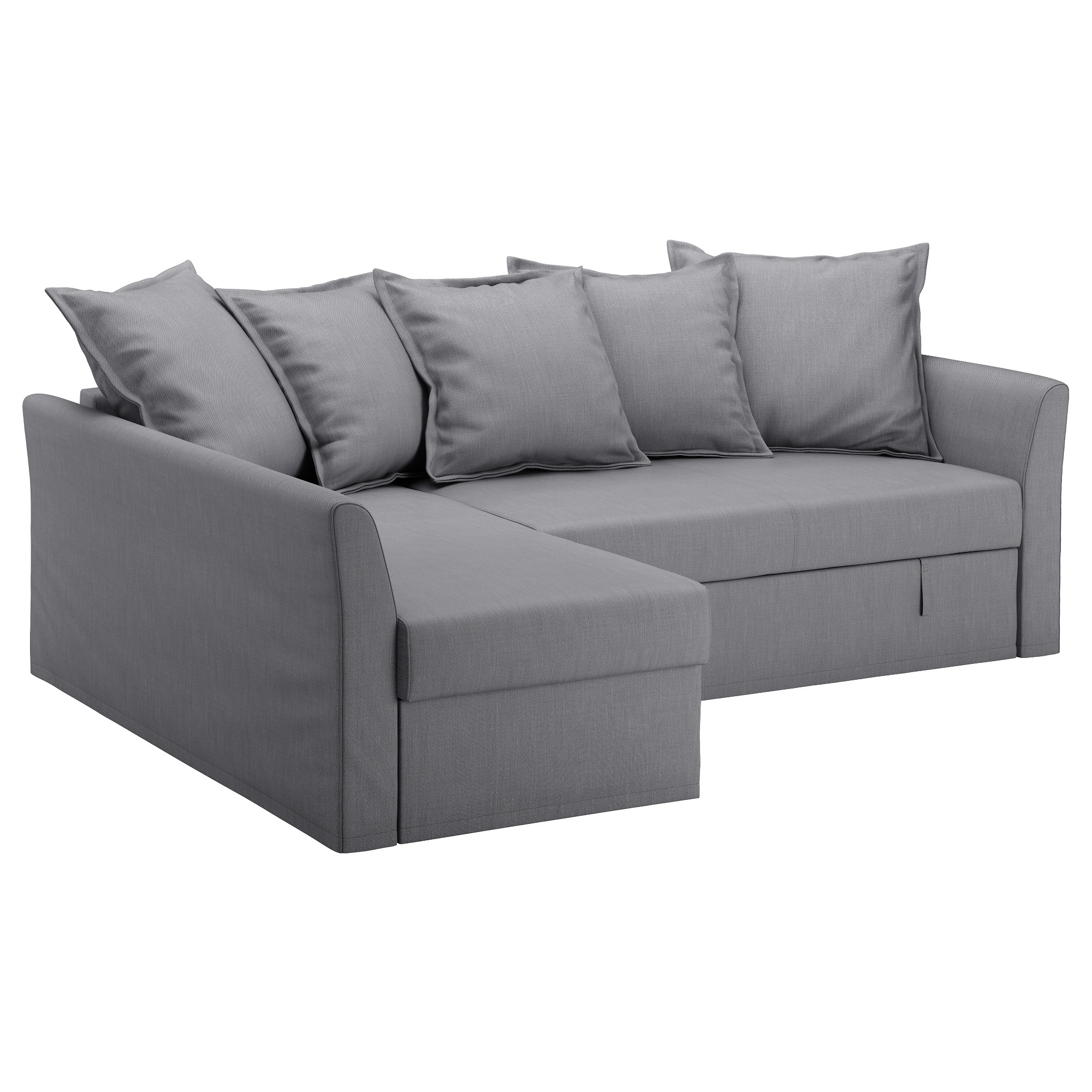 Ikea Chaise Couches Pertaining To Fashionable Holmsund Sleeper Sectional, 3 Seat – Orrsta Light White Gray – Ikea (View 7 of 15)