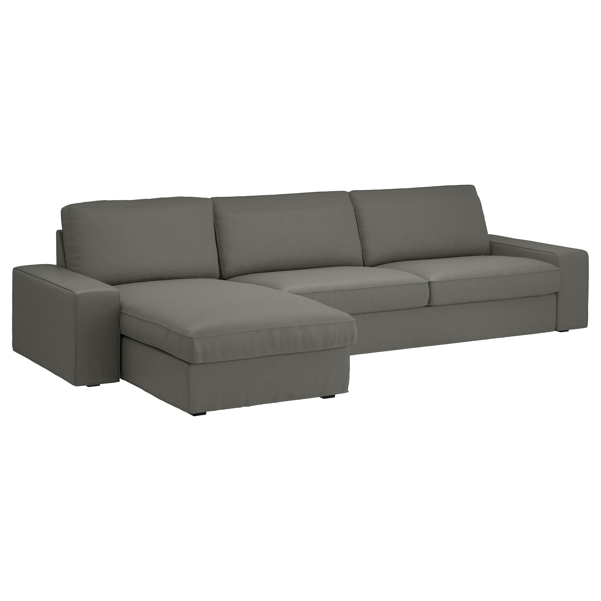 Ikea Chaise Lounges For Popular Kivik Sectional, 4 Seat – Hillared Beige – Ikea (Gallery 5 of 15)