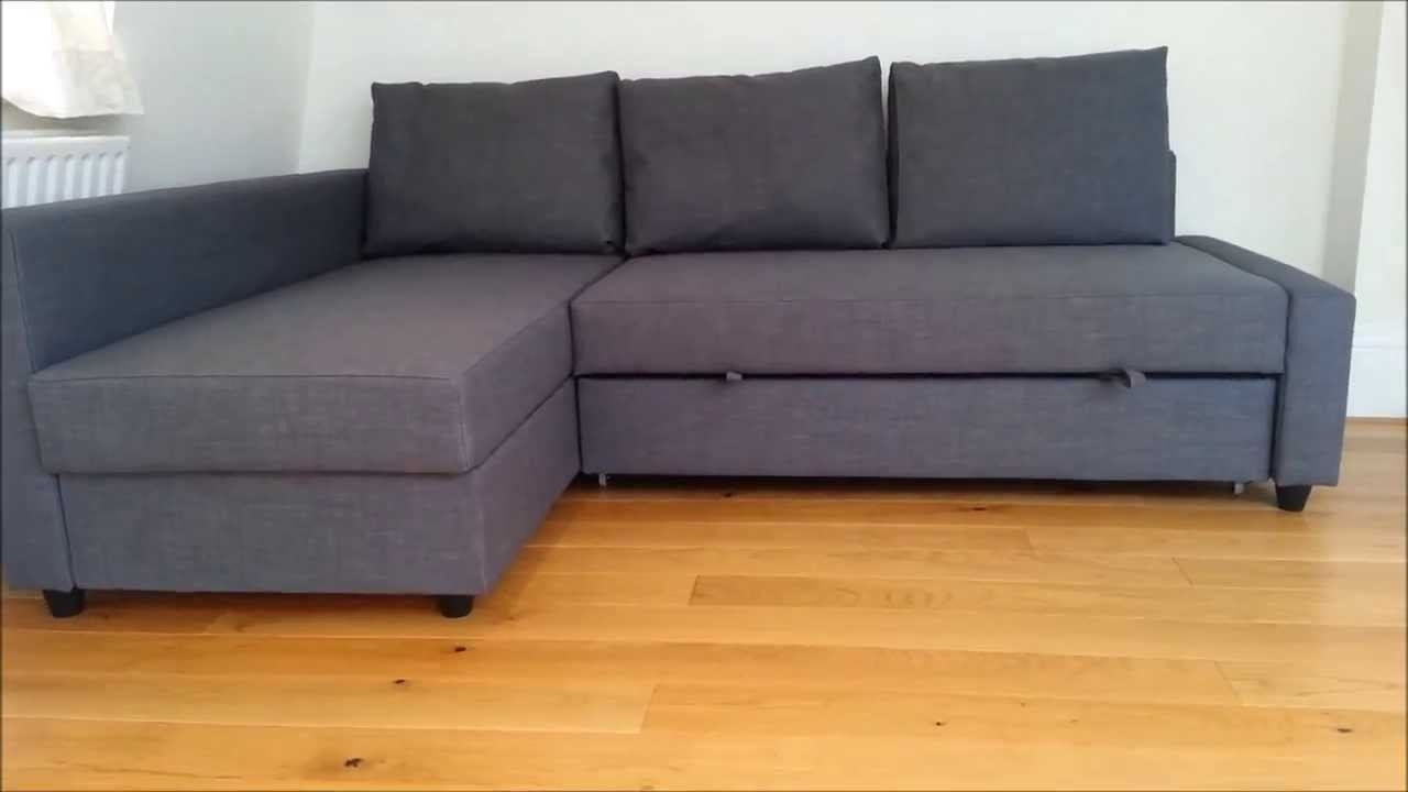 Ikea Sectional Sofa Beds With Most Current Ikea Sofa Bed – Youtube (View 2 of 15)