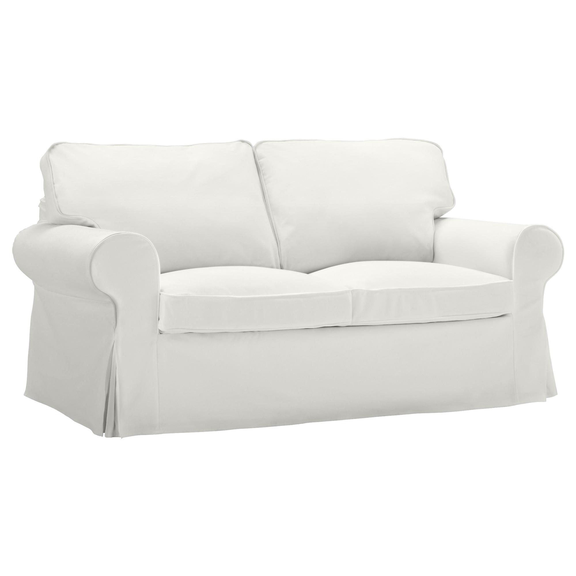 Ikea Two Seater Sofas Regarding Latest Ektorp Two Seat Sofa Blekinge White – Ikea (View 14 of 15)