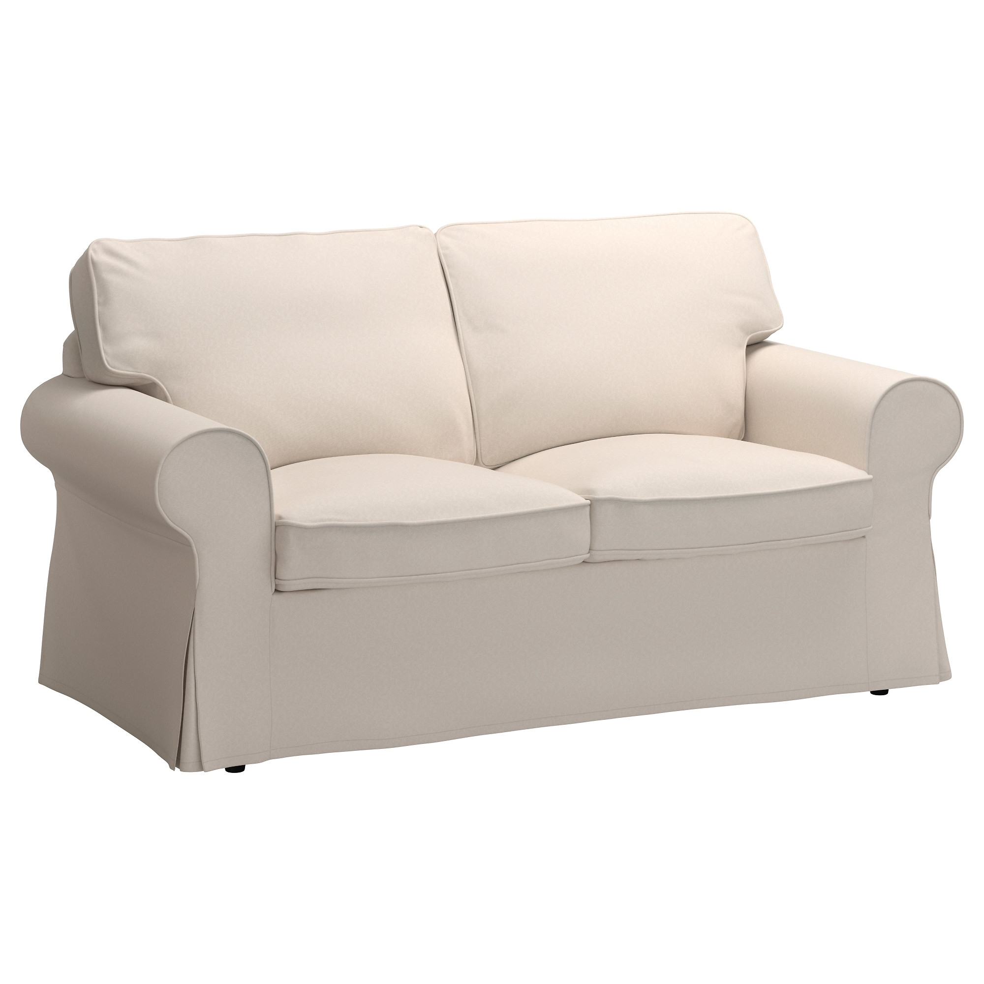 Ikea Two Seater Sofas Within Most Current Ektorp Two Seat Sofa – Lofallet Beige – Ikea (View 11 of 15)