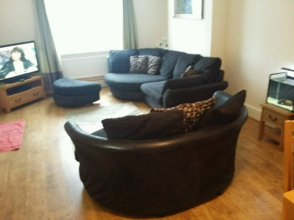 In Pertaining To 3 Seater Sofas And Cuddle Chairs (View 8 of 15)