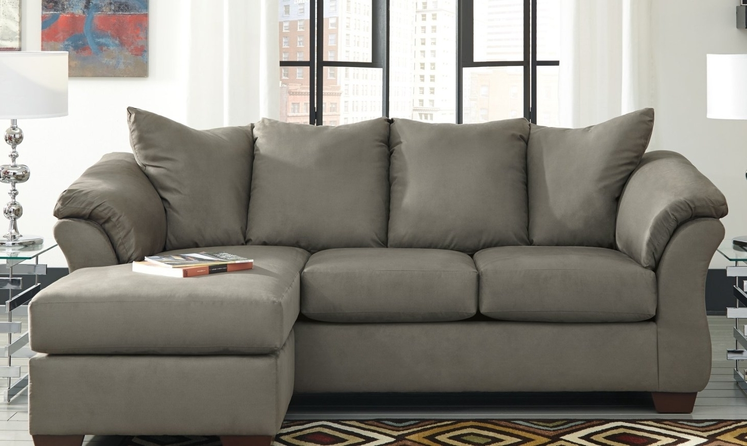 Incredible Abbyson Living Charlotte Dark Brown Sectional Sofa And Within Trendy Charlotte Sectional Sofas (Gallery 9 of 15)