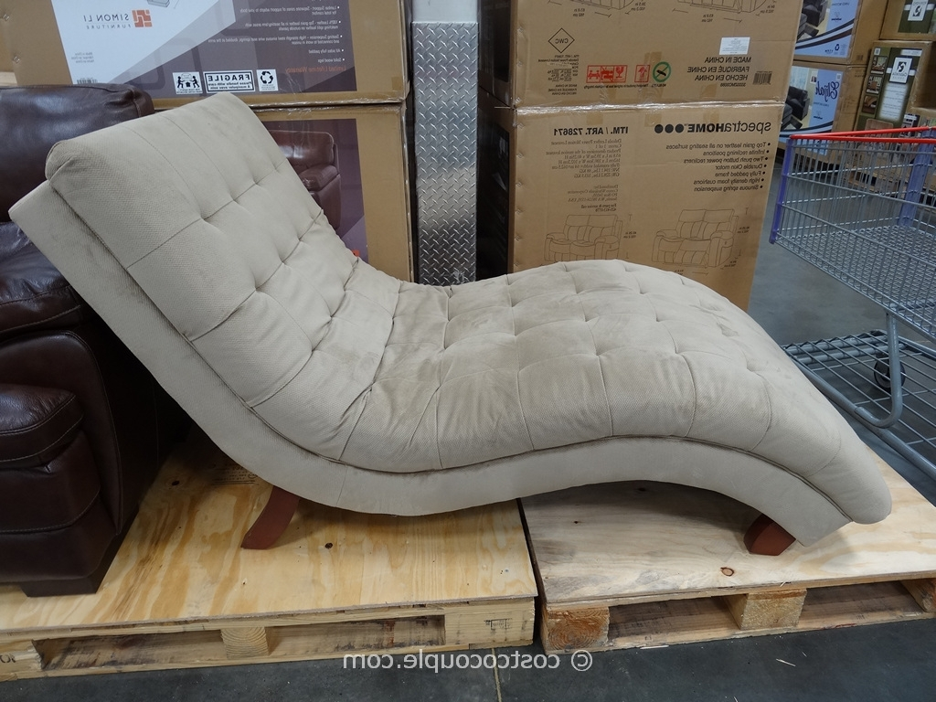 Indoor Chaise Lounge Chair That Was Sold At Costco – Google Search Intended For Well Liked Fabric Chaise Lounges (View 12 of 15)
