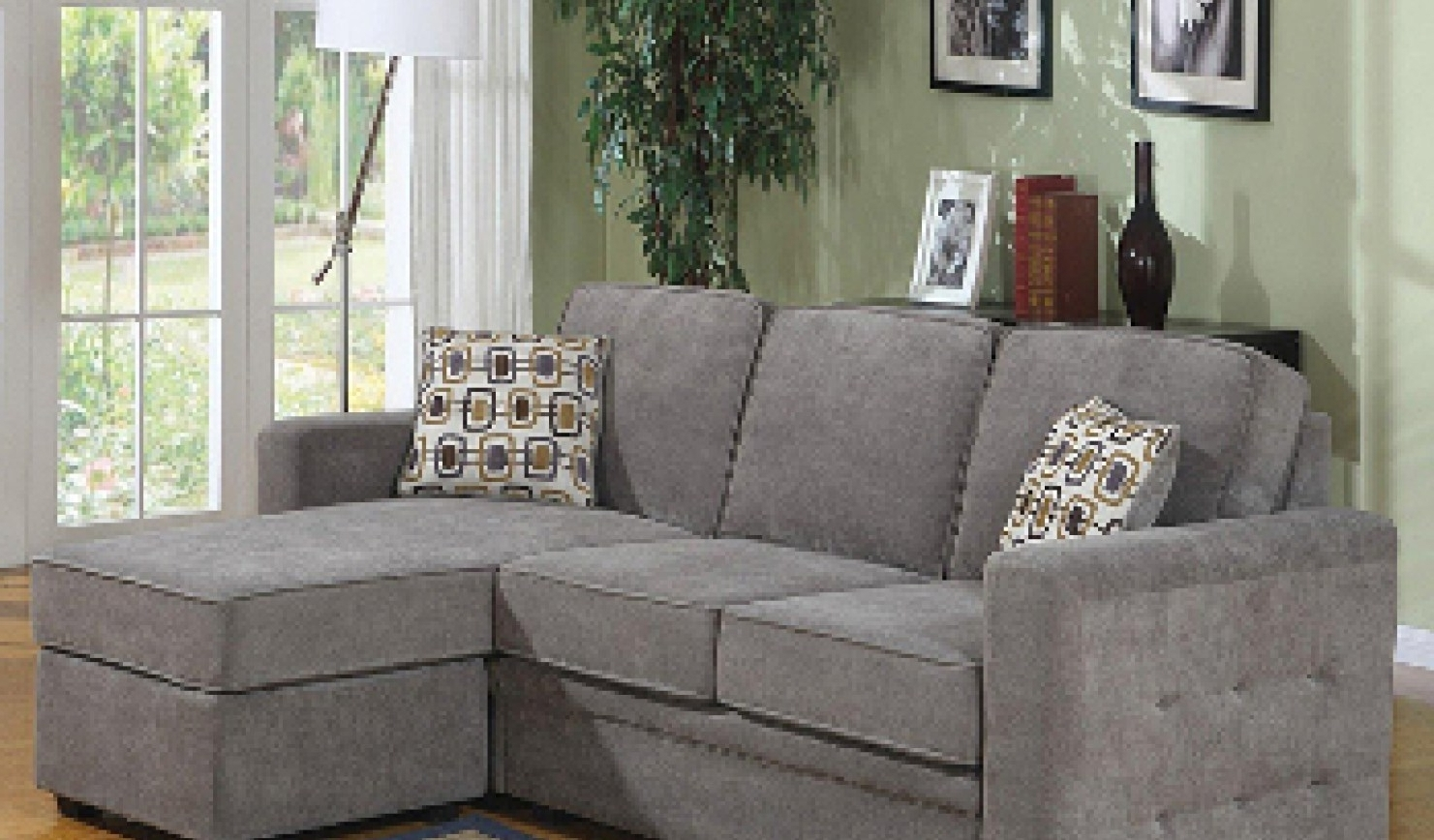 Inexpensive Sectional Sofas For Small Spaces With Trendy Stylish Inexpensive Sectional Sofas For Small Spaces (View 8 of 15)