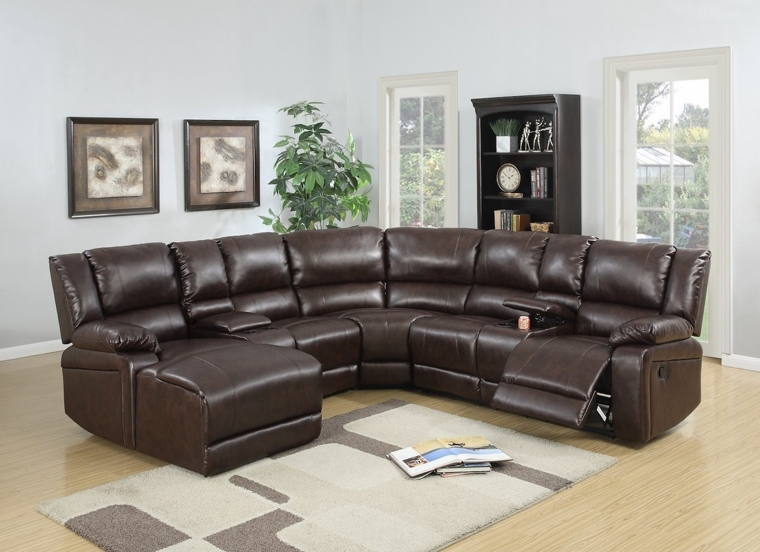 Infini Furnishings Reclining Sectional & Reviews (Gallery 9 of 15)