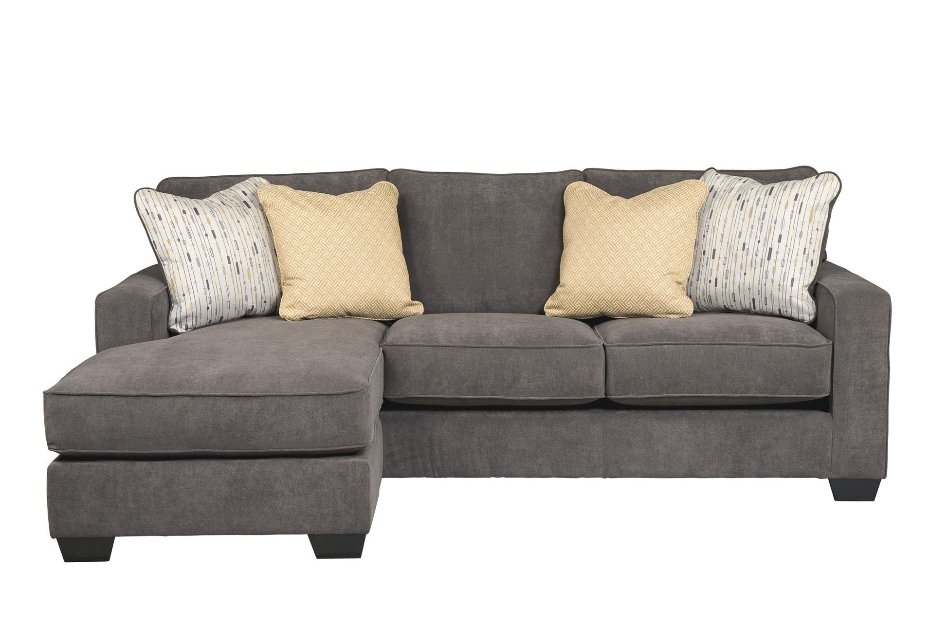 Interesting Couch With Chaise Lounge Ideas – Youtube Inside Well Known Grey Sofas With Chaise (View 2 of 15)