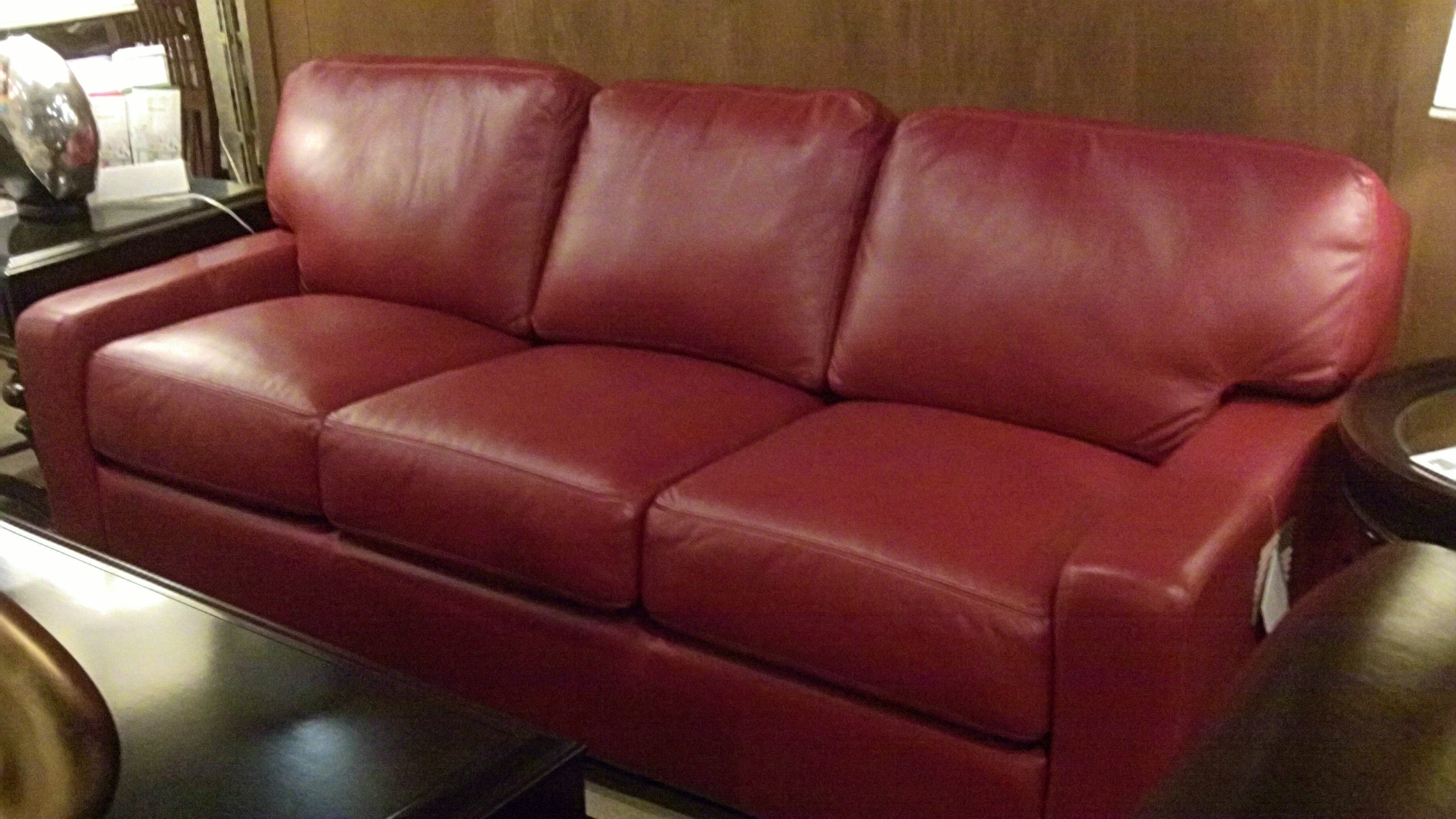 Interesting Red Leather Sofas Ireland Pictures Ideas - Surripui in Fashionable Red Leather Couches