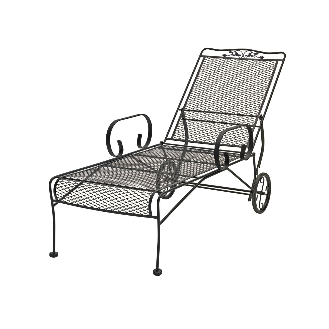 Iron Chaise Lounges Intended For Recent Outdoor : Lowes Patio Furniture Clearance Plastic Lounge Chairs (View 4 of 15)