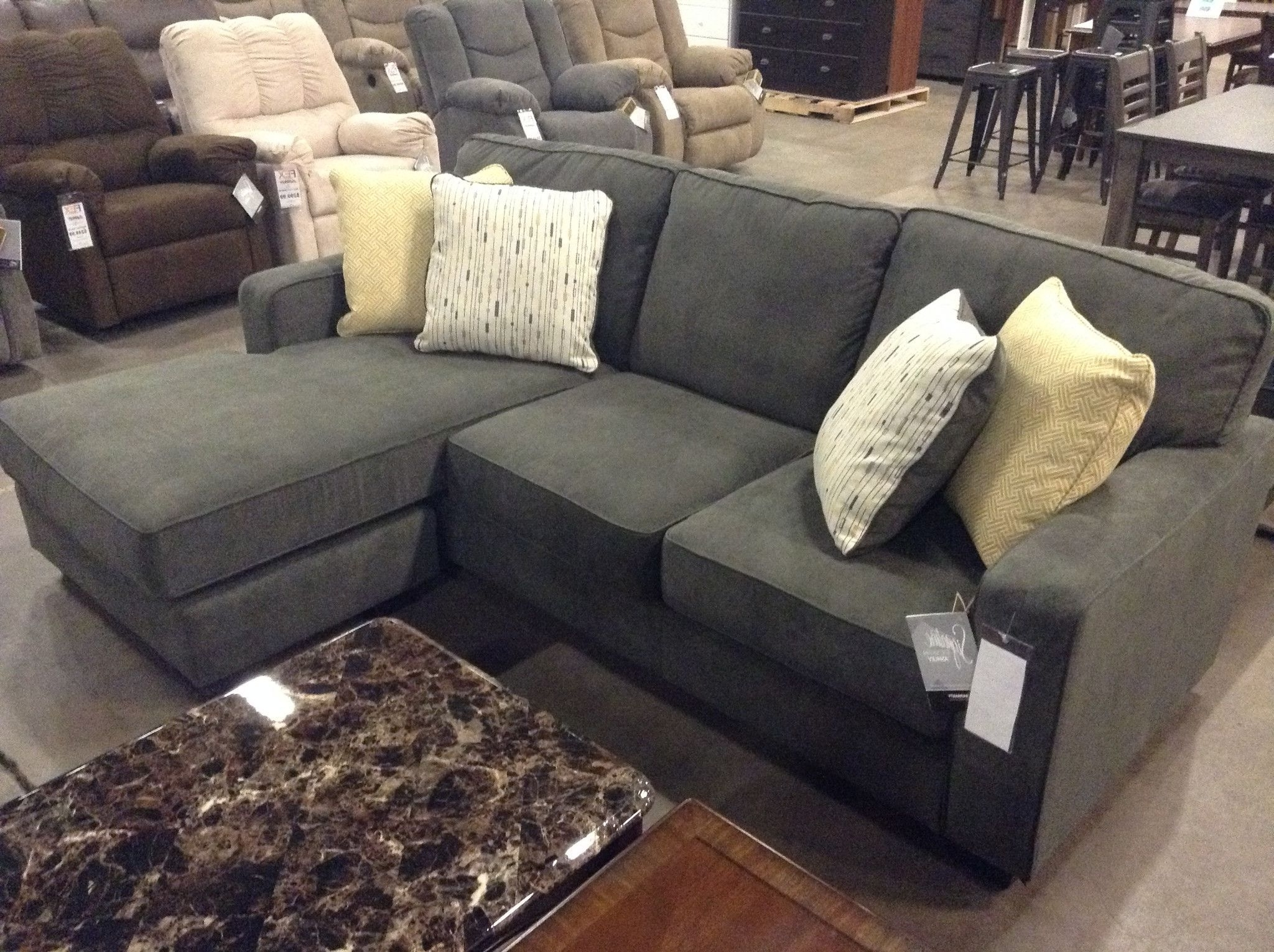 Item Description: Sometimes Clean And Simple Is Simply Beautiful Regarding Newest Hodan Sofas With Chaise (View 2 of 15)