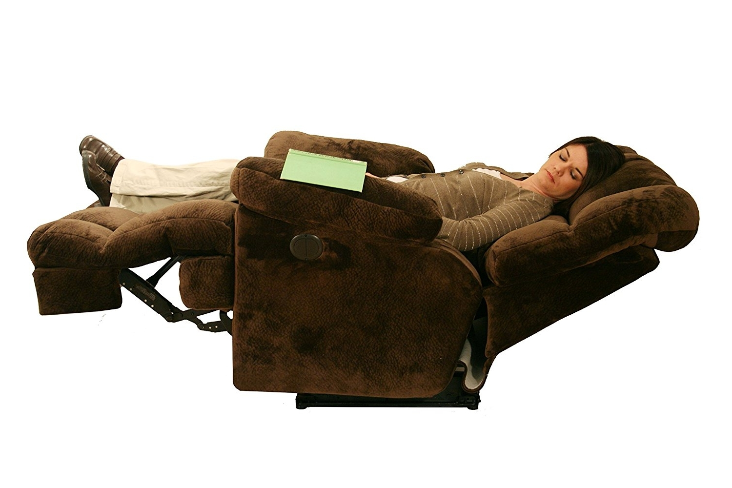 Jackpot Reclining Chaises Throughout 2017 Amazon: Catnapper Cloud 12 Power Chaise Recliner – Camel (Gallery 15 of 15)