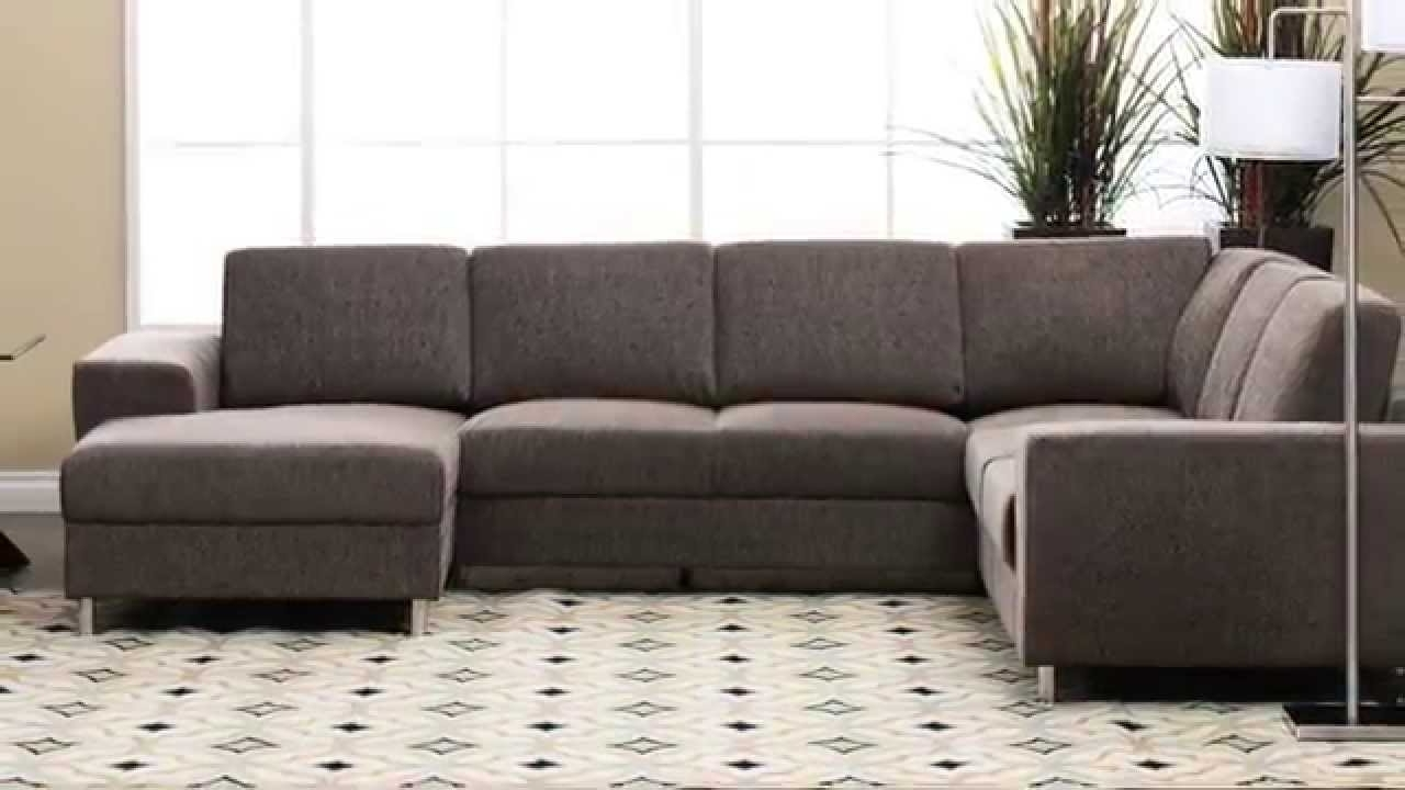 Jerome's Sectional Sofas Inside Fashionable Jerome's Furniture – Elena Sectional – Youtube (View 3 of 15)