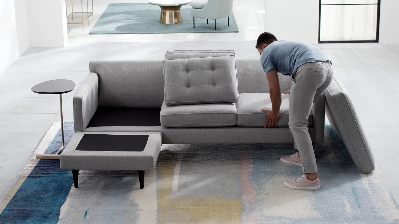 Johnny Janosik Sectional Sofas For Most Recent Drake Reversible Sectional – Youtube (Gallery 13 of 15)