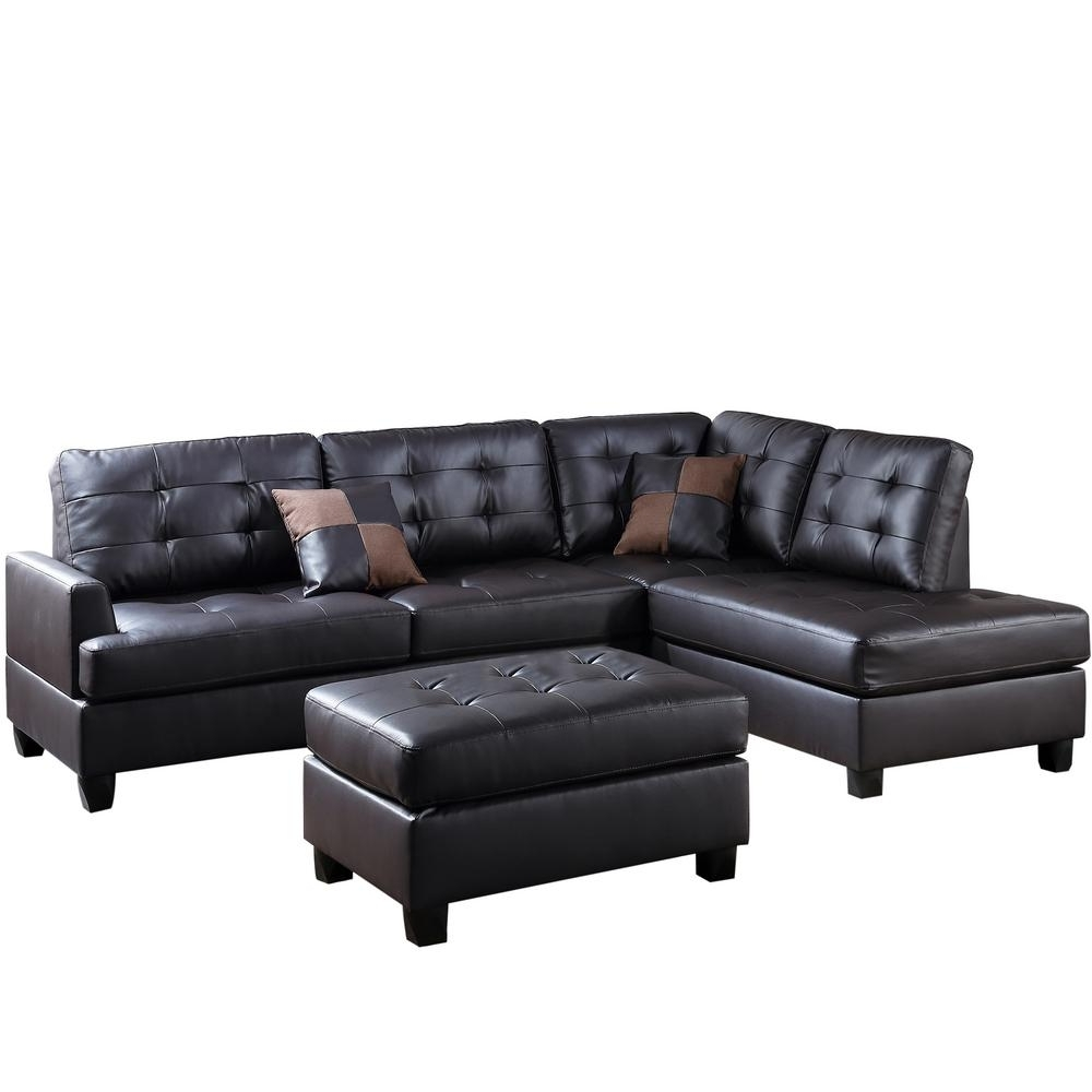 Johnny Janosik Sectional Sofas Inside 2018 3 Piece Sectional Sofas Jessa Place Chocolate Sofa For 790 (View 12 of 15)