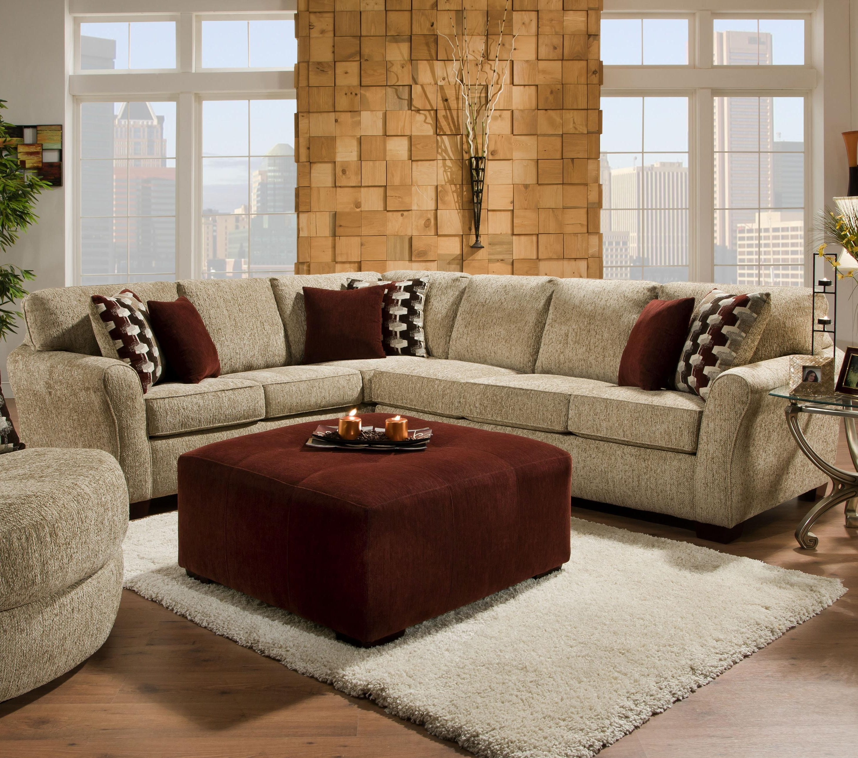 Johnny Janosik Sectional Sofas Throughout Most Up To Date 2500 Contemporary Styled Sectional Sofa With Sleepercorinthian (View 10 of 15)