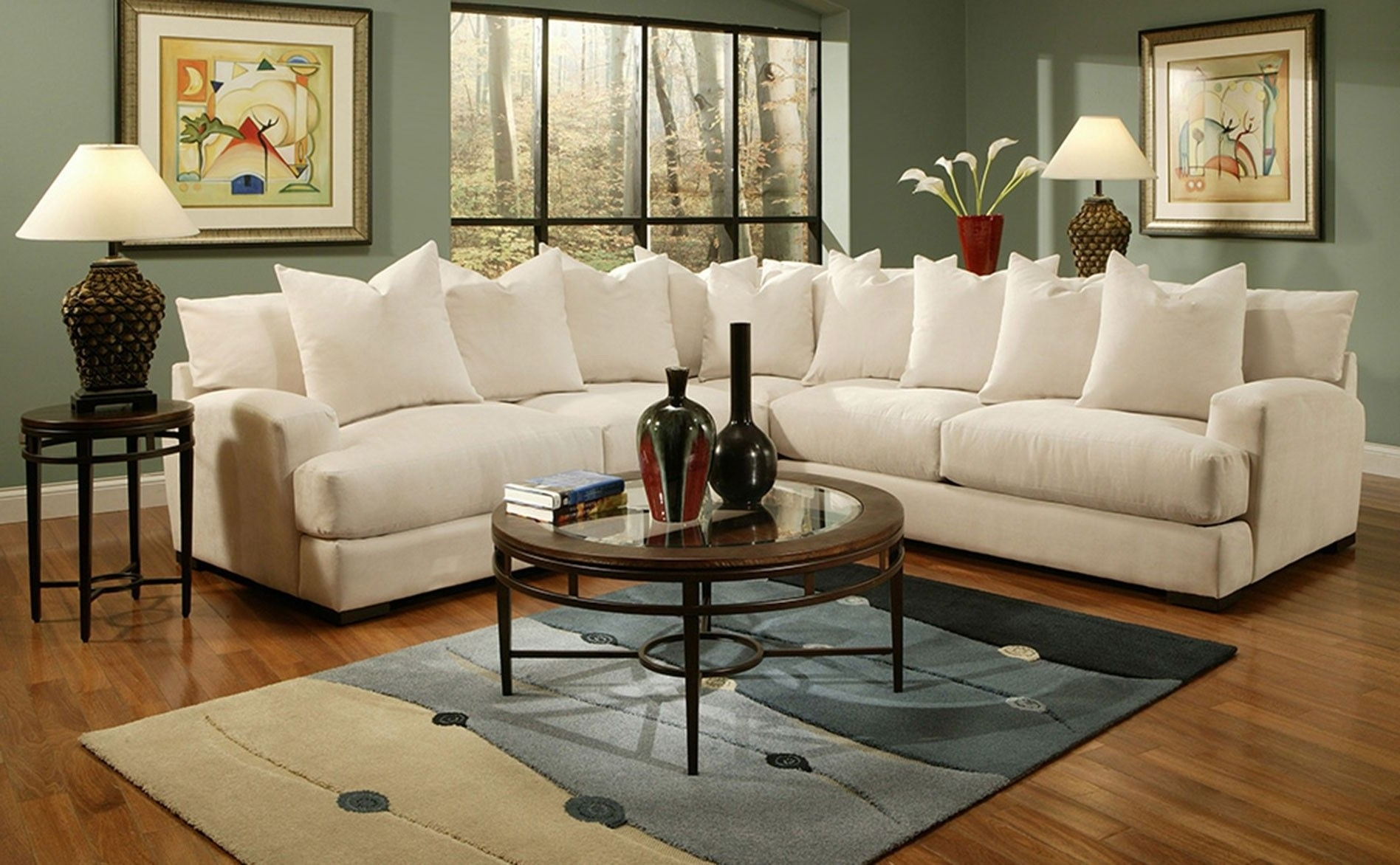 Jonathan Louis Carlin Sectional – Belfore Linen (View 4 of 15)