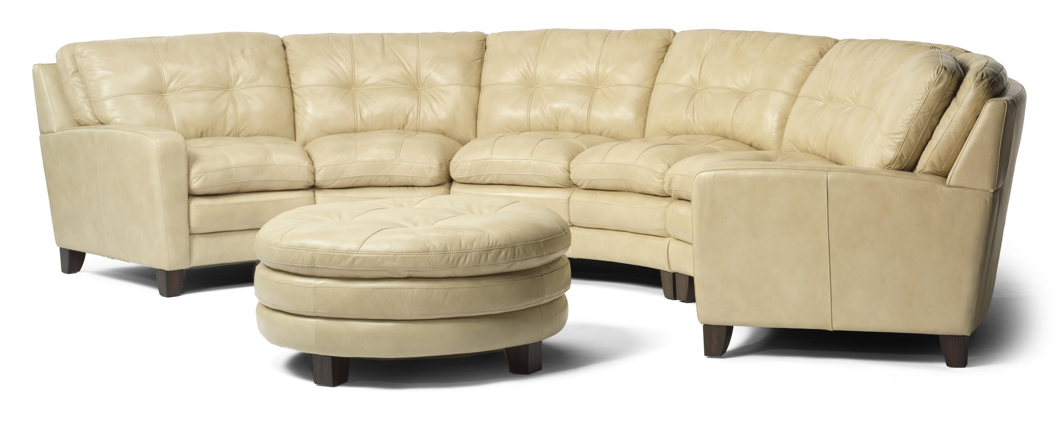 Jonesboro Ar Sectional Sofas With Well Known Flexsteel Latitudes – South Street Curved Sectional Sofa – Ahfa (View 6 of 15)