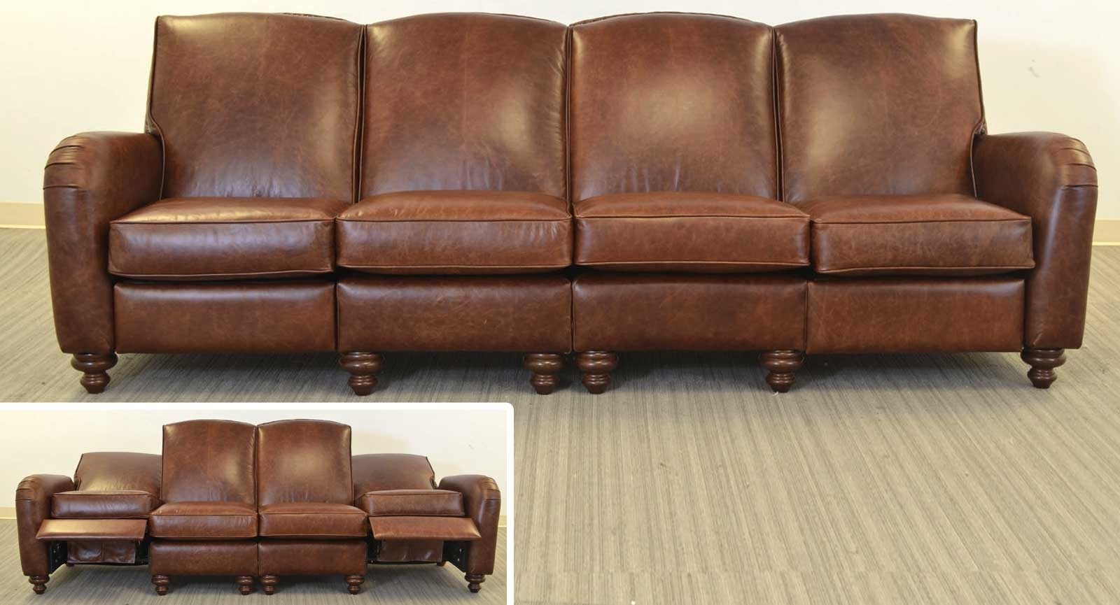 Jordi Sofa ‹‹ The Leather Sofa Company With Regard To Fashionable Four Seater Sofas (Gallery 9 of 15)