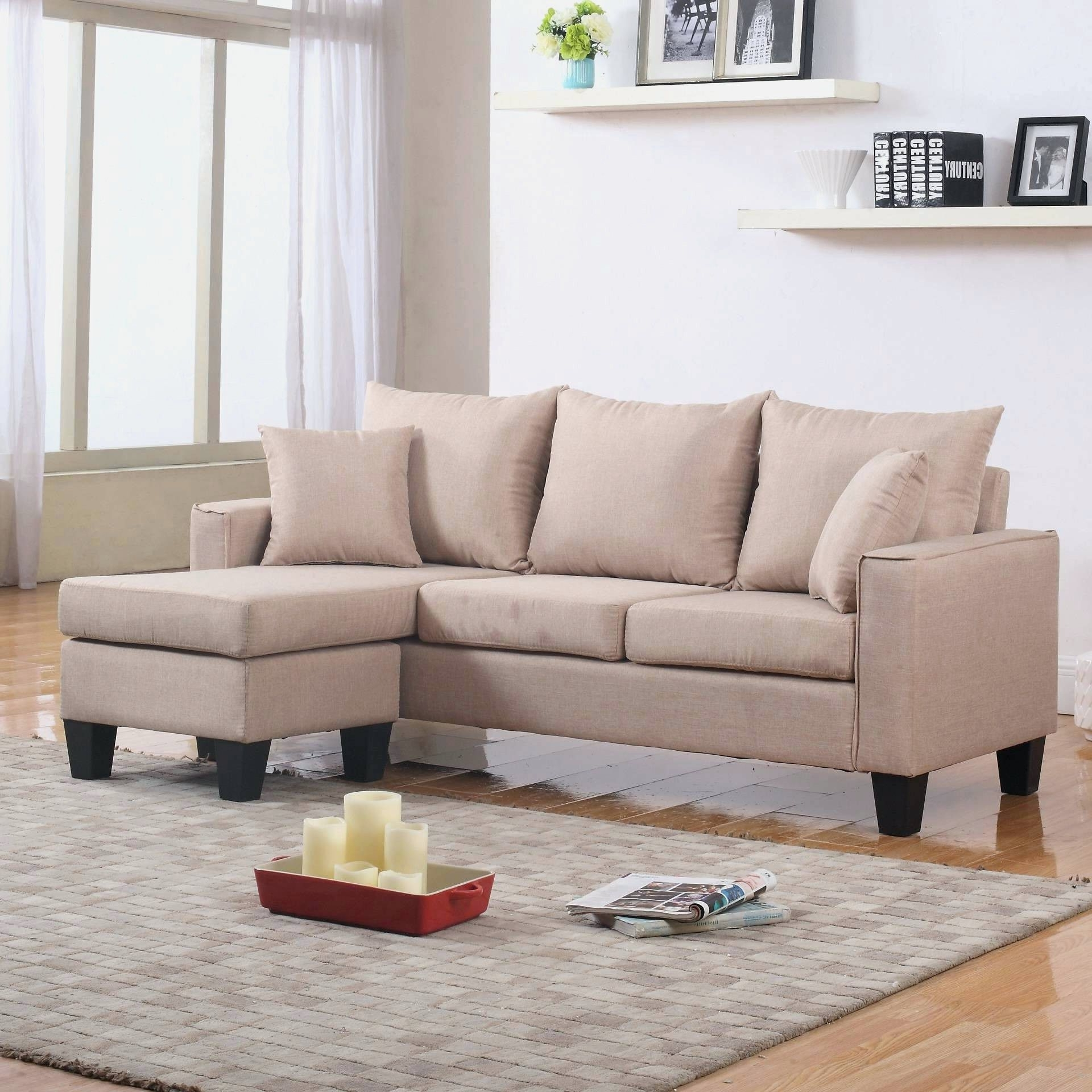 Joss And Main Sectional Sofas Pertaining To Most Popular Fascinating Cosmopolitan In And To Large Size Along With Backs (Gallery 10 of 15)
