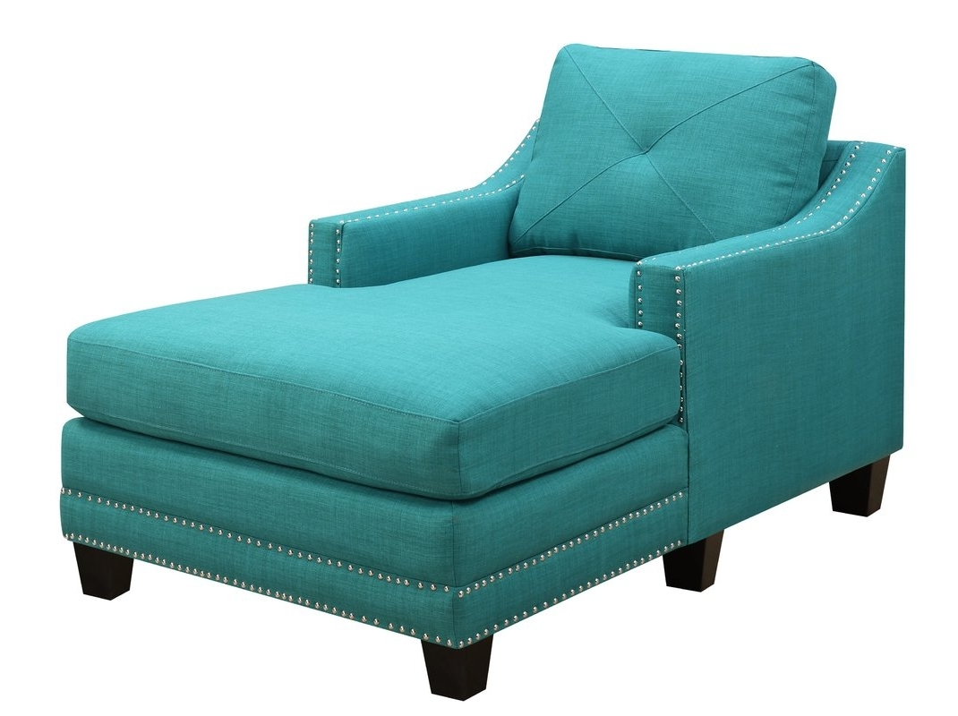 Joss & Main Pertaining To Turquoise Chaise Lounges (View 8 of 15)