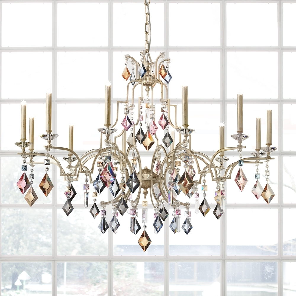 Juliettes Interiors Inside Current Coloured Chandeliers (Gallery 5 of 15)