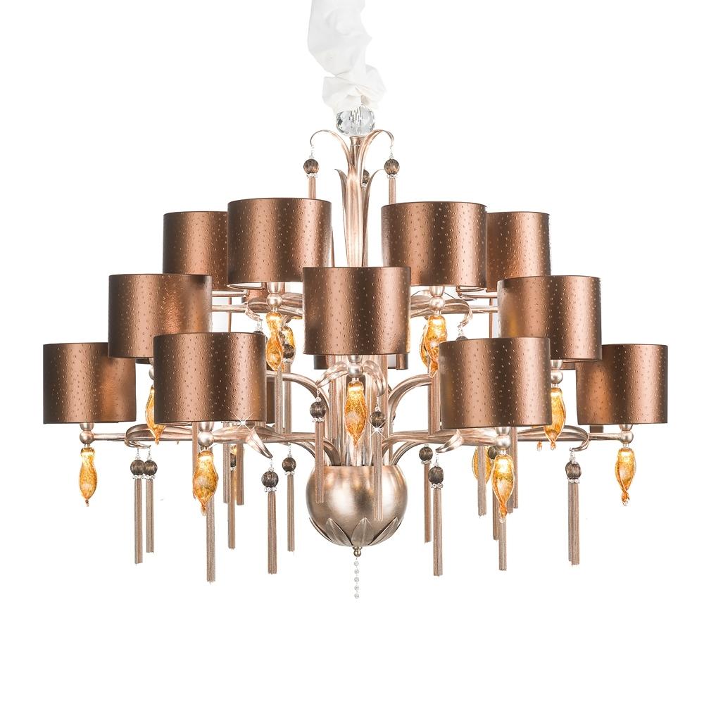 Juliettes Interiors regarding Copper Chandelier