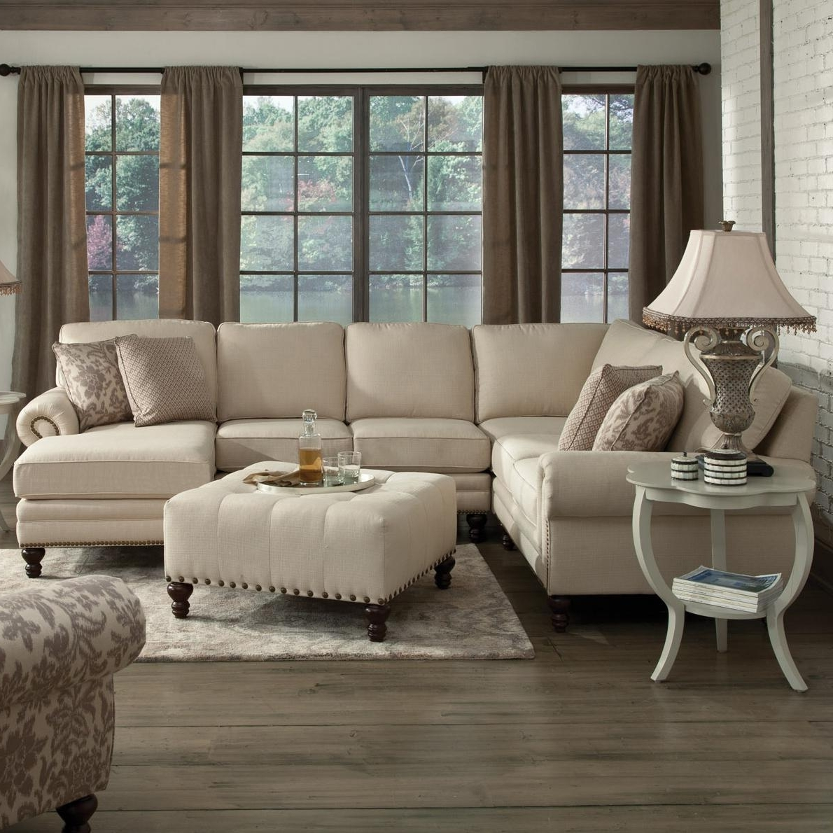 Kansas City Mo Sectional Sofas With Best And Newest England Amix Six Seat Sectional With Right Chaise – Ahfa – Sofa (View 7 of 15)