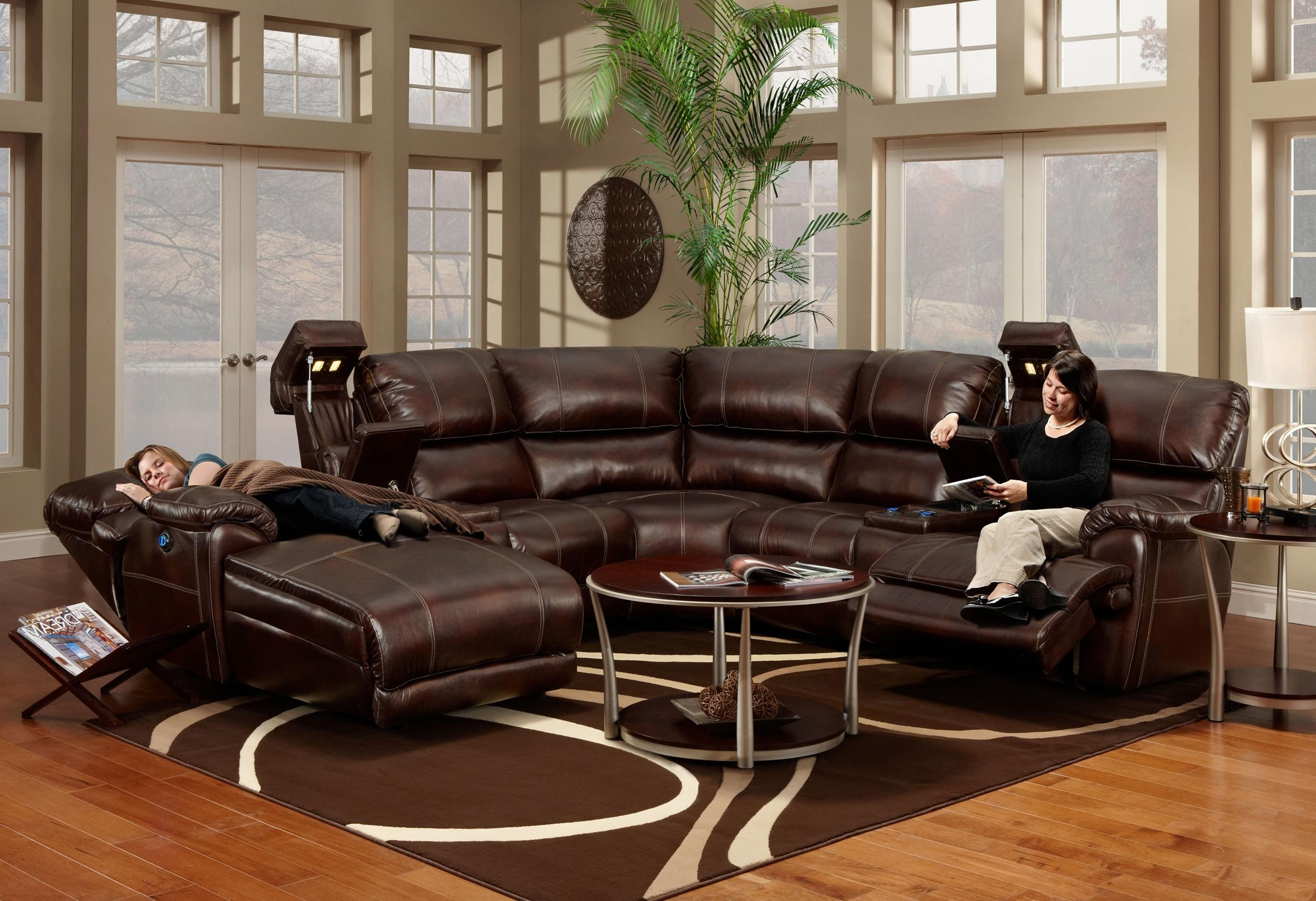 Kansas City Sectional Sofas throughout Widely used Franklin 572 Reclining Sectional Sofa With Chaise - Ahfa - Sofa