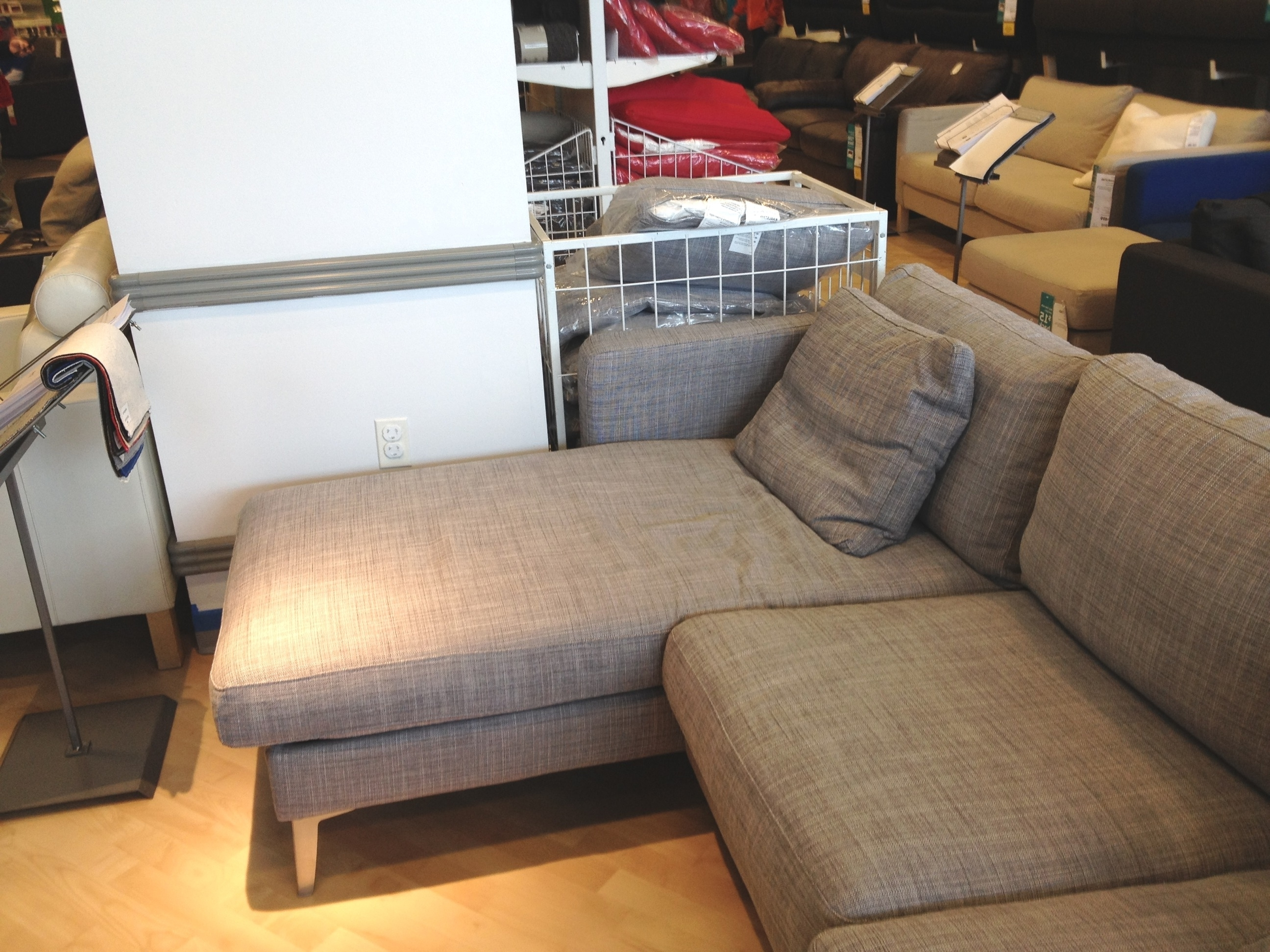 Karlstad – Keeps On Ringing Pertaining To Fashionable Crate And Barrel Chaises (View 12 of 15)