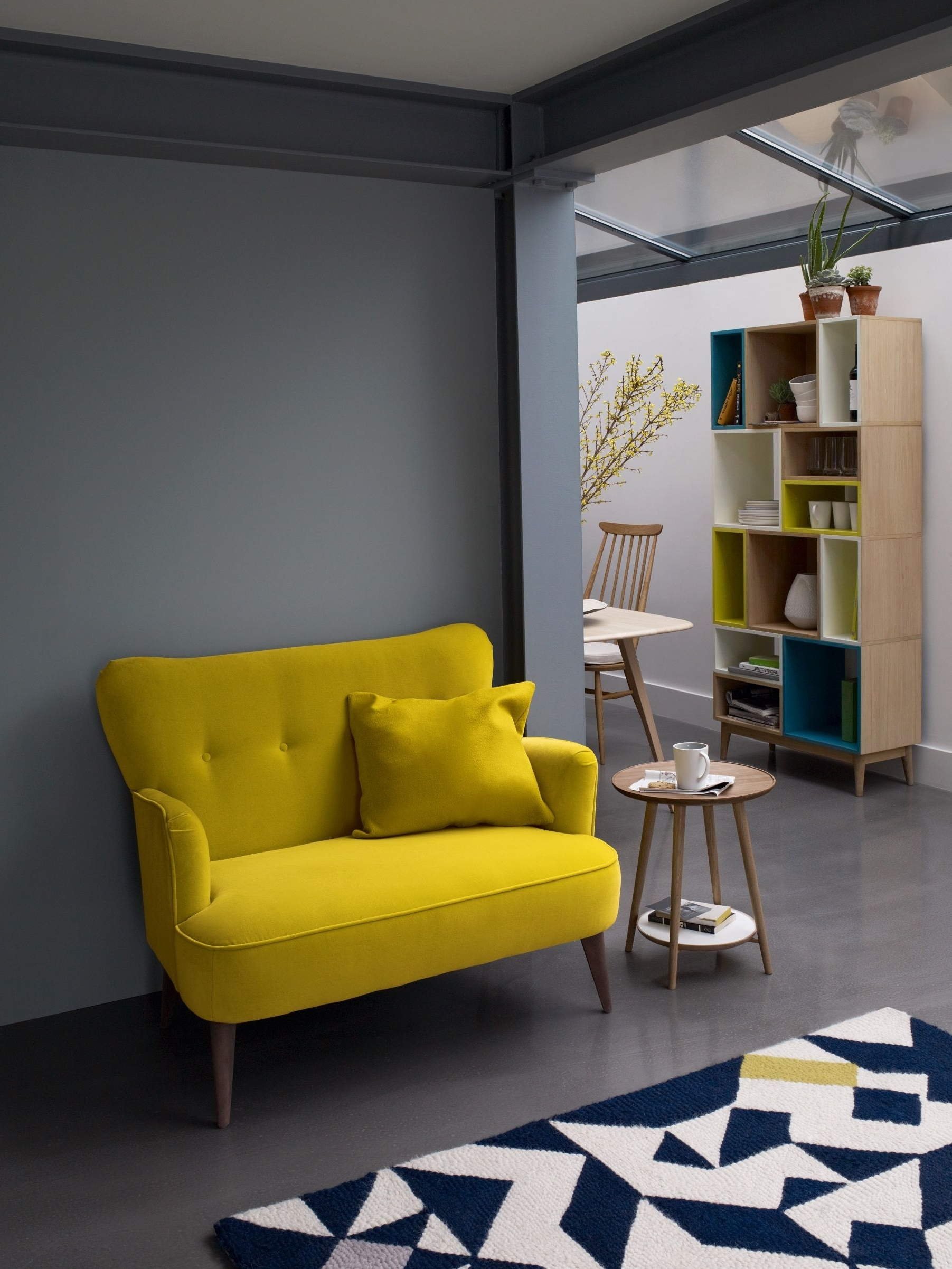 Featured Photo of Yellow Sofa Chairs