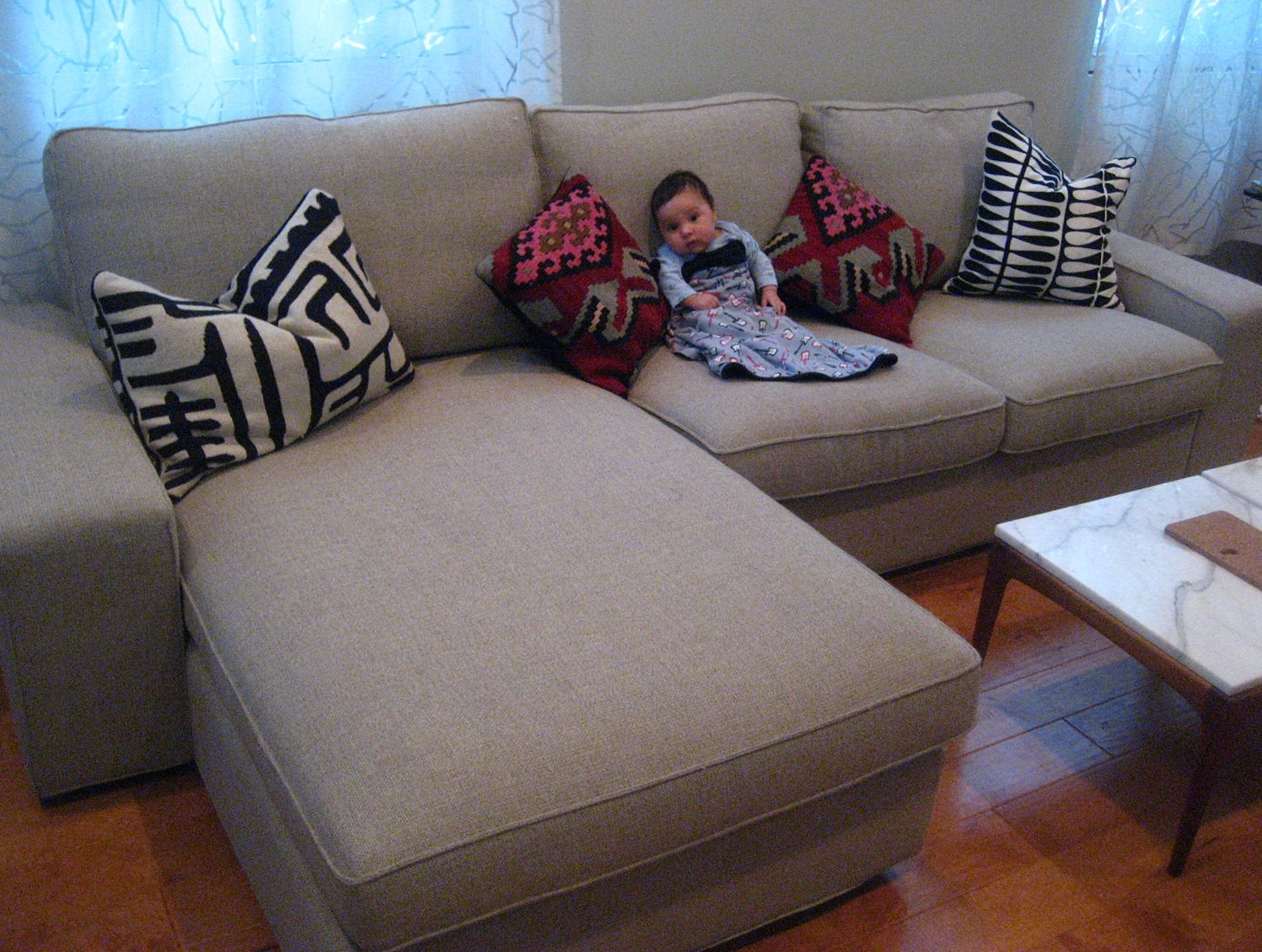 Kivik Loveseat And Chaise Lounge (View 9 of 15)