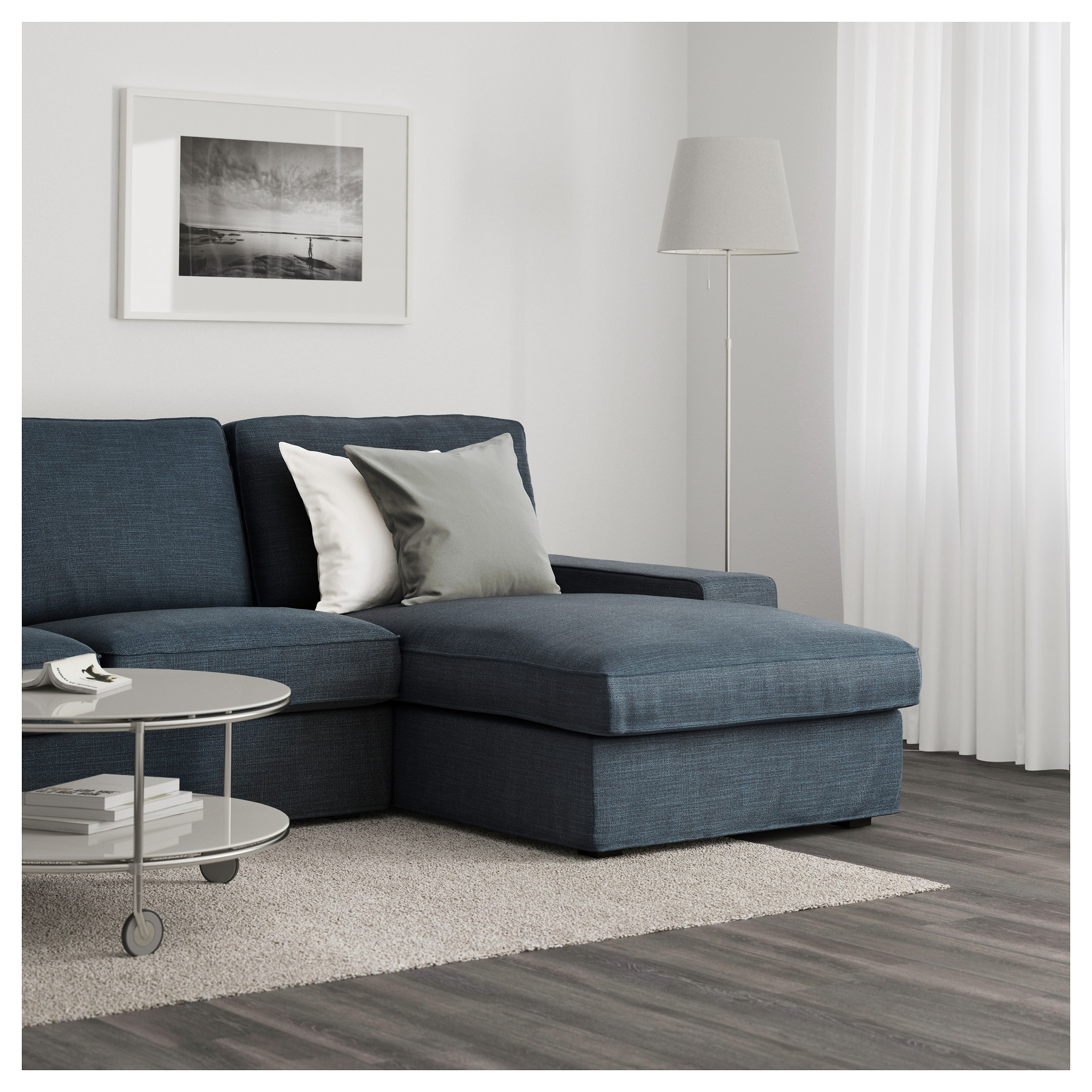 Kivik Sofa – With Chaise/hillared Beige – Ikea Within Well Known Ikea Ektorp Chaises (View 15 of 15)