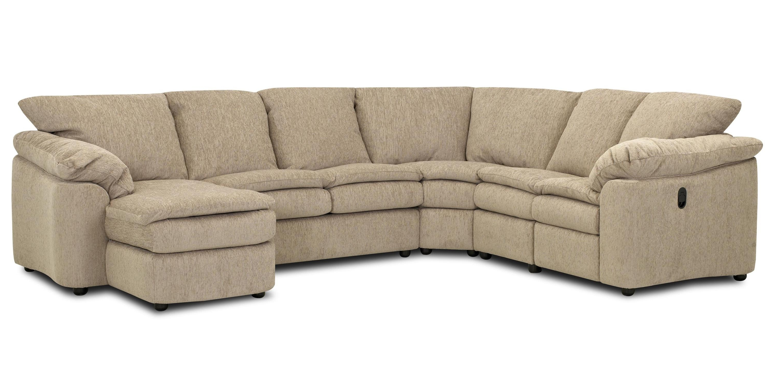 Klaussner Legacy Dual Reclining Left Arm Loveseat, Sleeper And With Regard To Well Known Dual Chaise Sectionals (View 14 of 15)