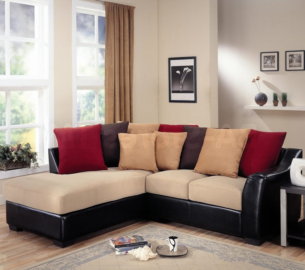 Kmart Sectional Sofas Intended For Famous Black Sectional Sofa For Cheap Decor Terrific Kmart Sofas With (View 11 of 15)