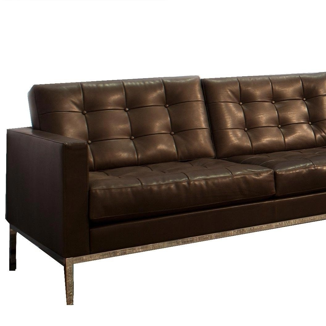 Knoll International Inside Popular Florence Leather Sofas (View 8 of 15)