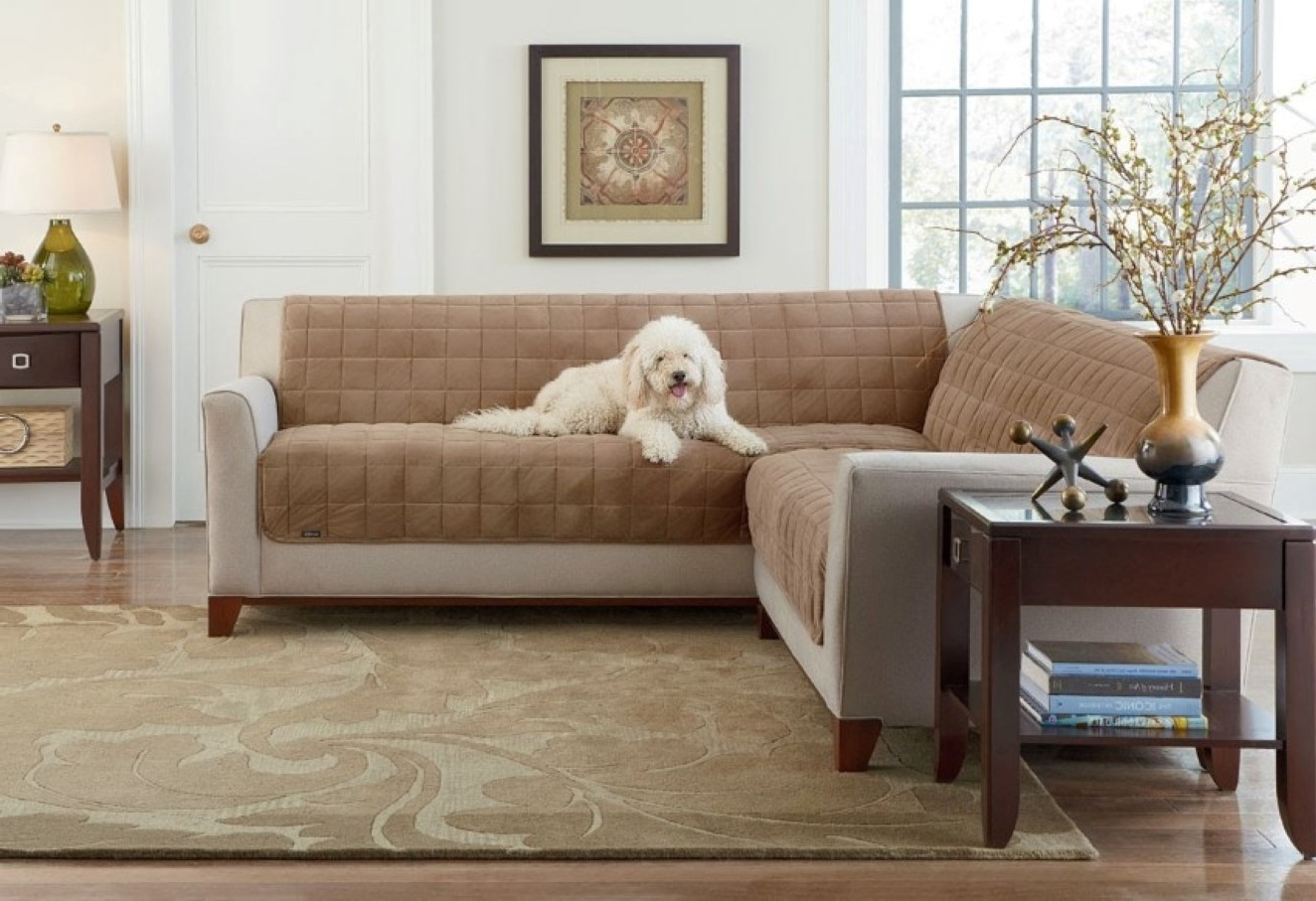 L Shape Sofa Covers — Cabinets, Beds, Sofas And Morecabinets, Beds Intended For Trendy Sectional Sofas With Covers (View 4 of 15)