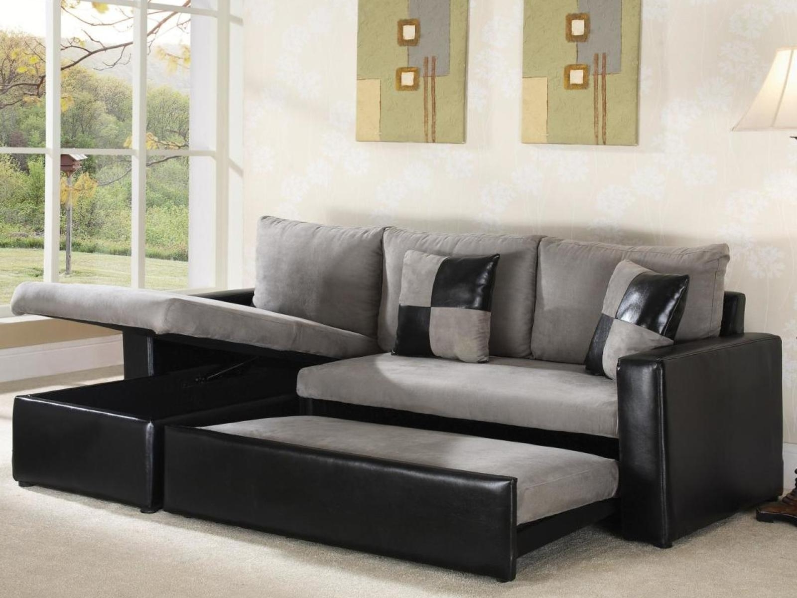 L Shaped Sectional Sleeper Sofas In Recent L Shaped Sectional Sleeper Sofa – Ansugallery (View 8 of 15)