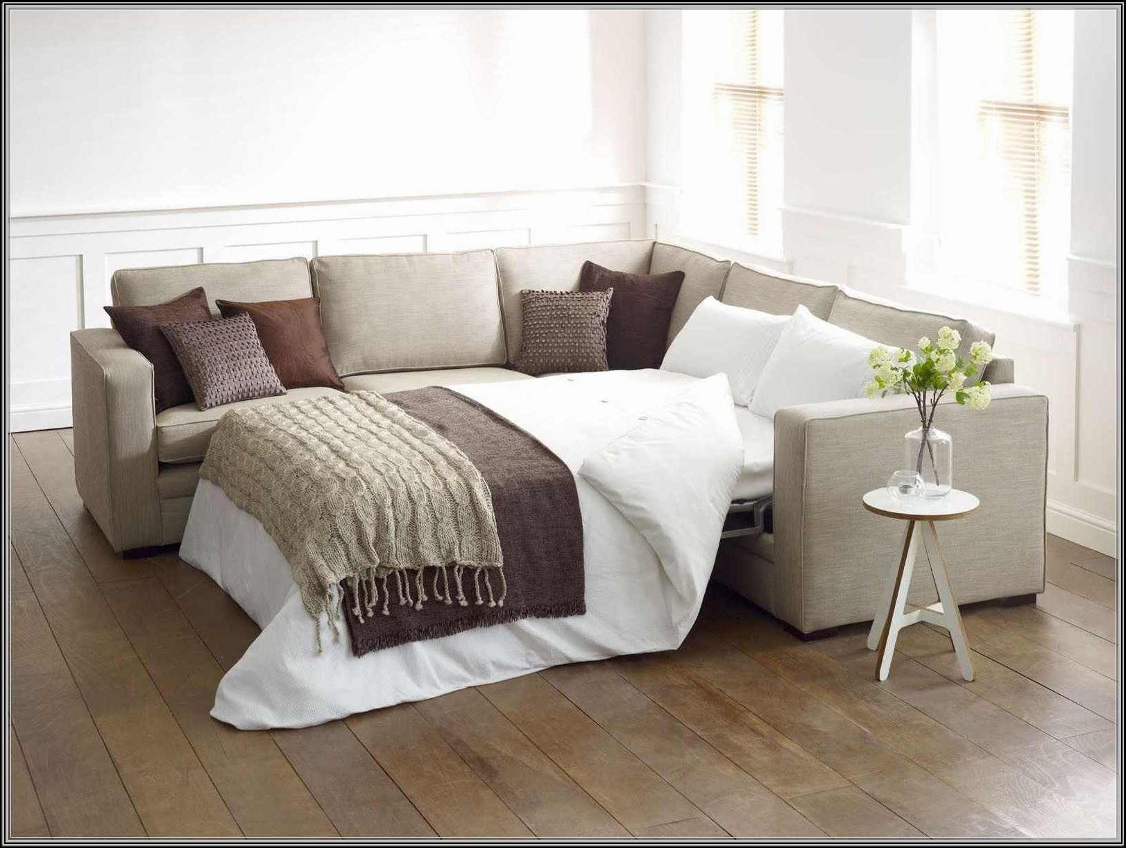L Shaped Sectional Sleeper Sofas Pertaining To Latest Wonderful L Shaped Sleeper Sofa Stunning Cheap Furniture Ideas (View 9 of 15)