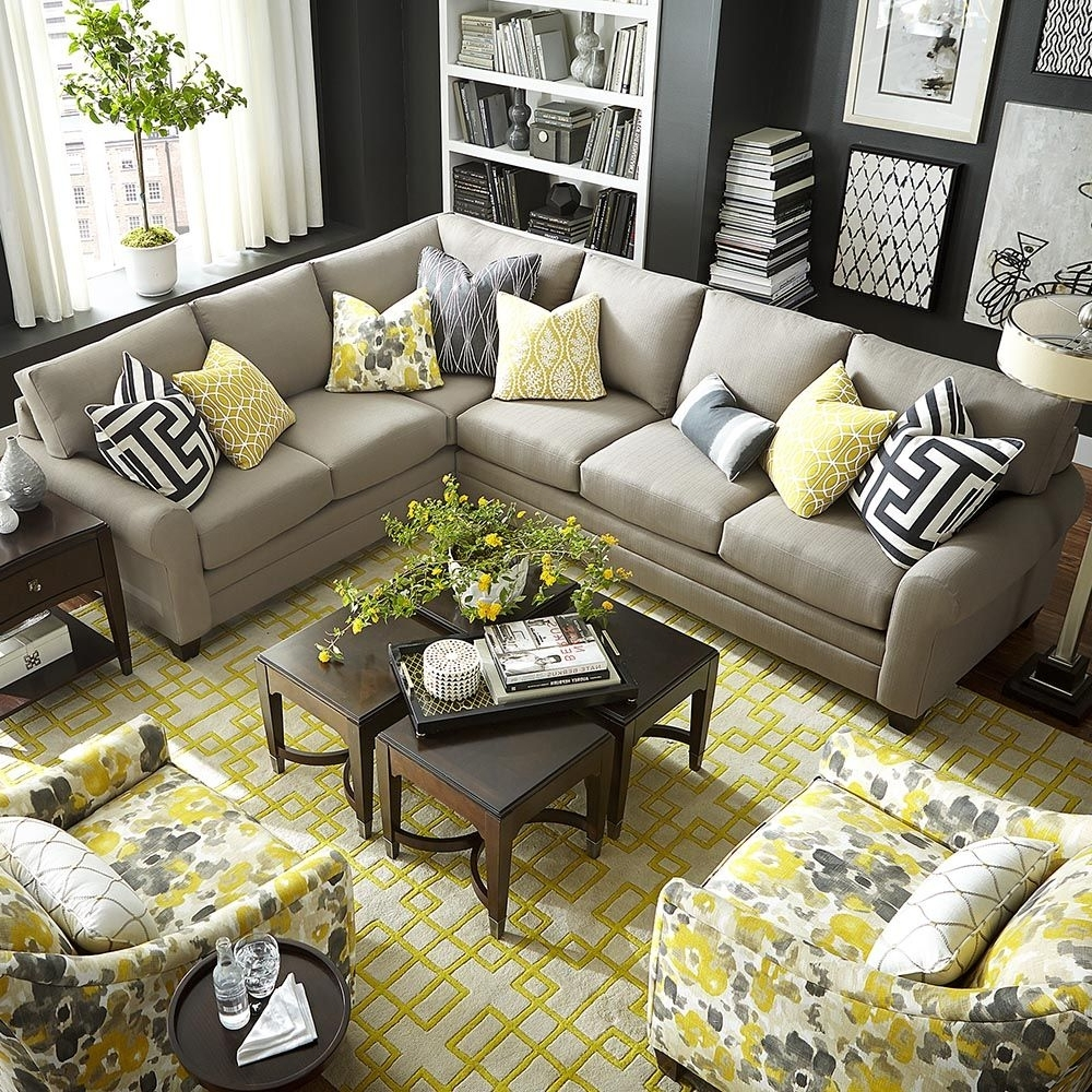L Shaped Sectional Sofas Throughout Well Known Cu (View 14 of 15)