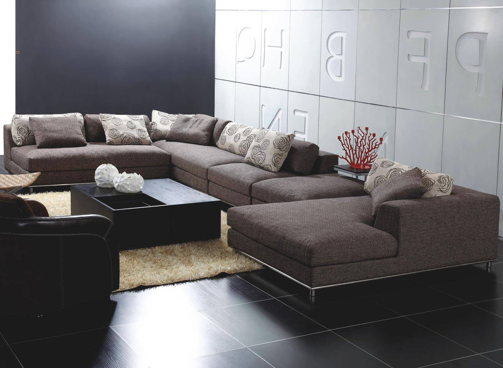 L Shaped Sectionals With Chaise Within Most Recent Sofa : Sectional With Chaise Grey L Shaped Sofa Gray Sectional (View 8 of 15)