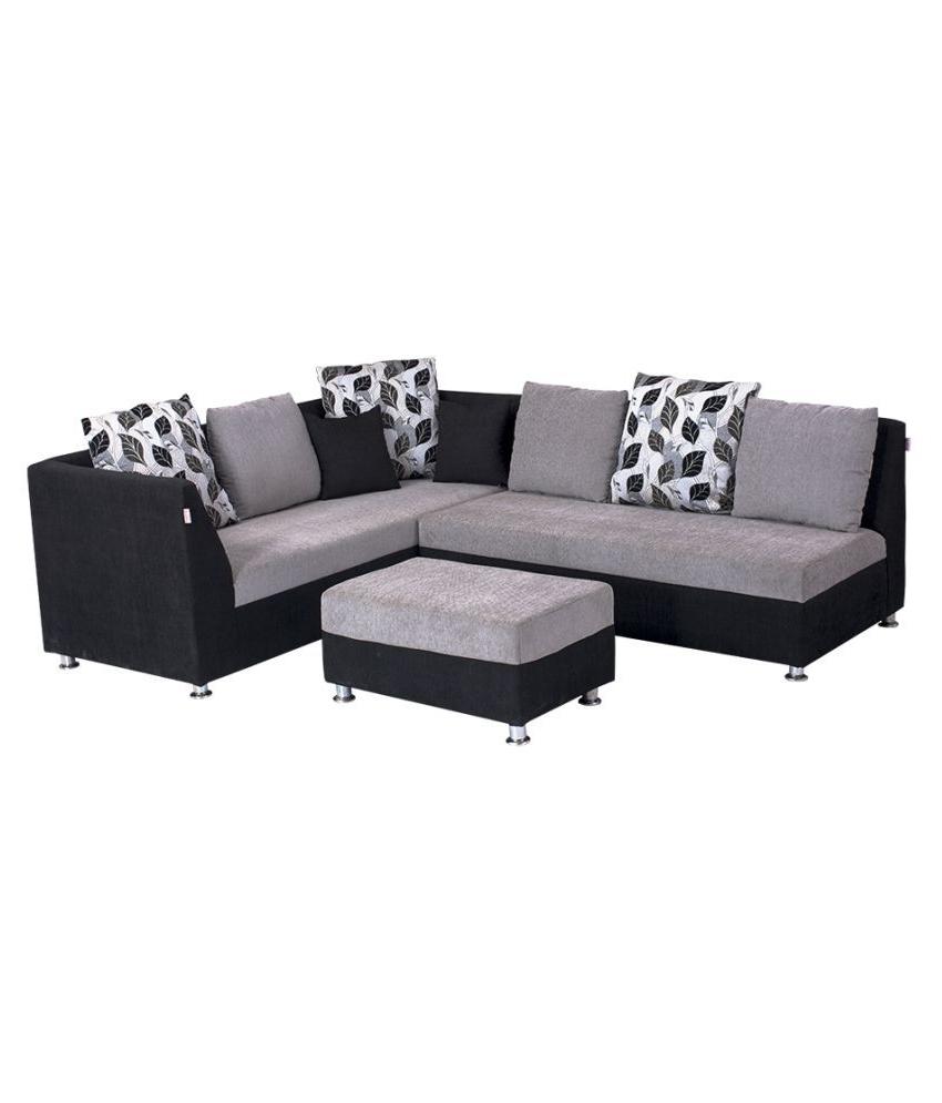 L Shaped Sofas Regarding Popular Home Design : L Shape Sofa Set Designs For Small Living Room (View 12 of 15)