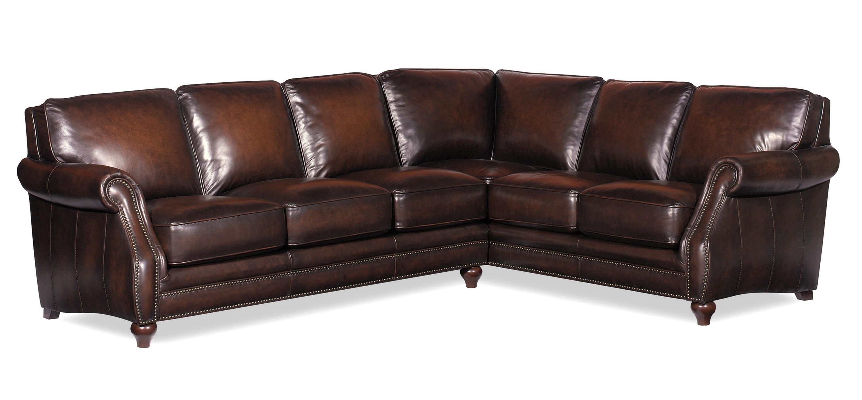 L121500 Two Piece Sectional Sofahickorycraft//johnny Janosik With Trendy Johnny Janosik Sectional Sofas (View 11 of 15)