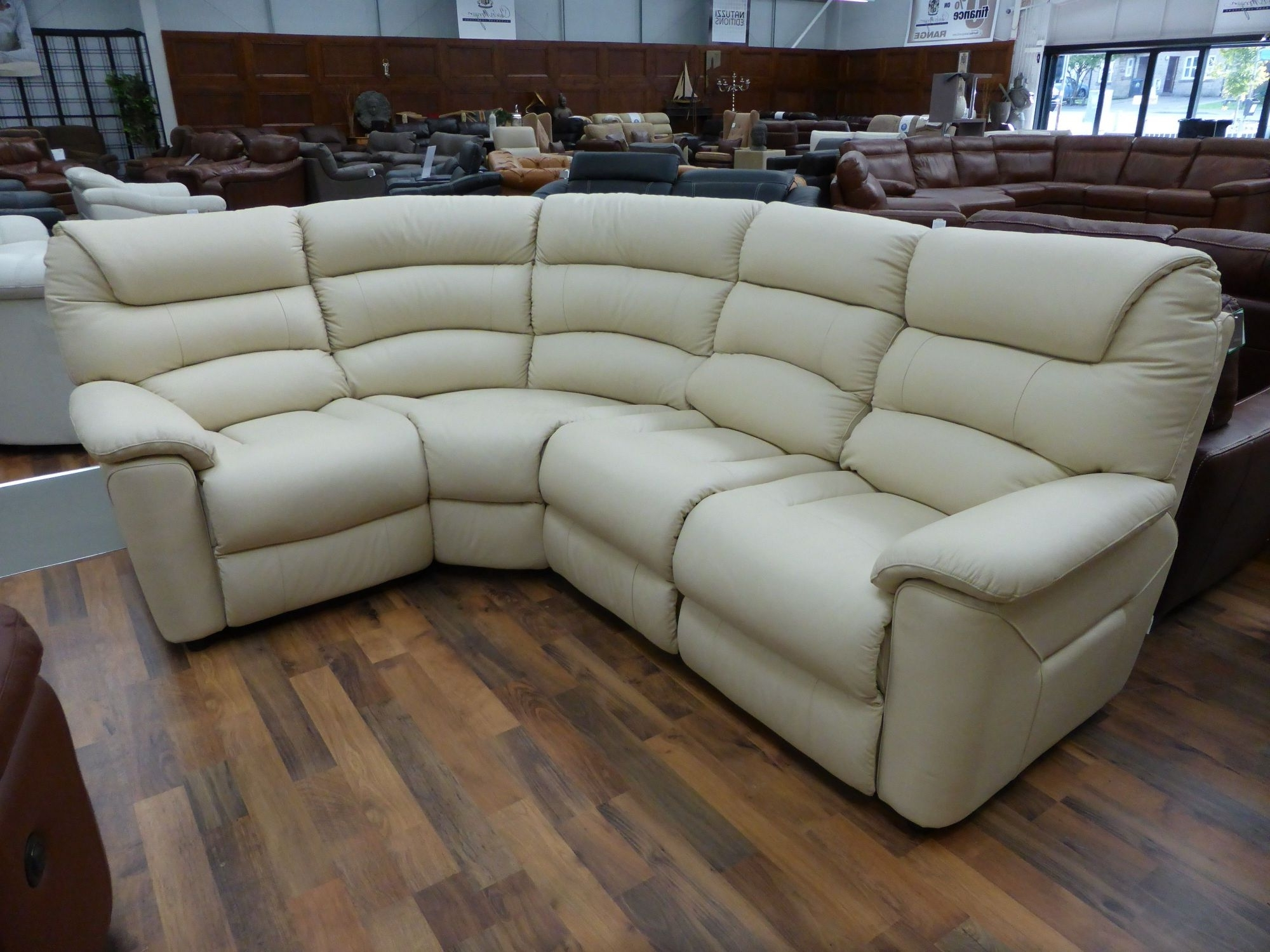 La Z Boy Sectional Sofas Regarding Well Liked Incredible Laboy Sofa Frame Construction Leather Reclining (View 9 of 15)