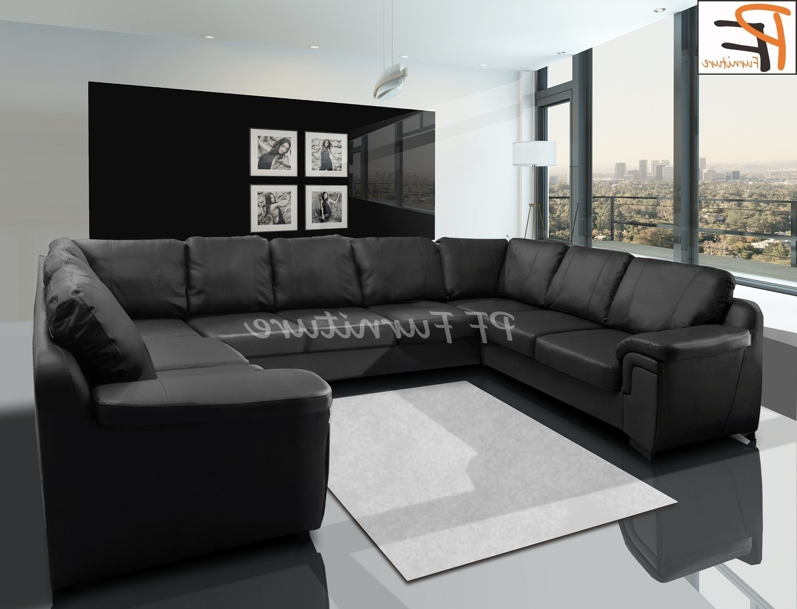 Large U Shaped Sofa – Home And Textiles Inside Most Popular Large U Shaped Sectionals (View 8 of 15)