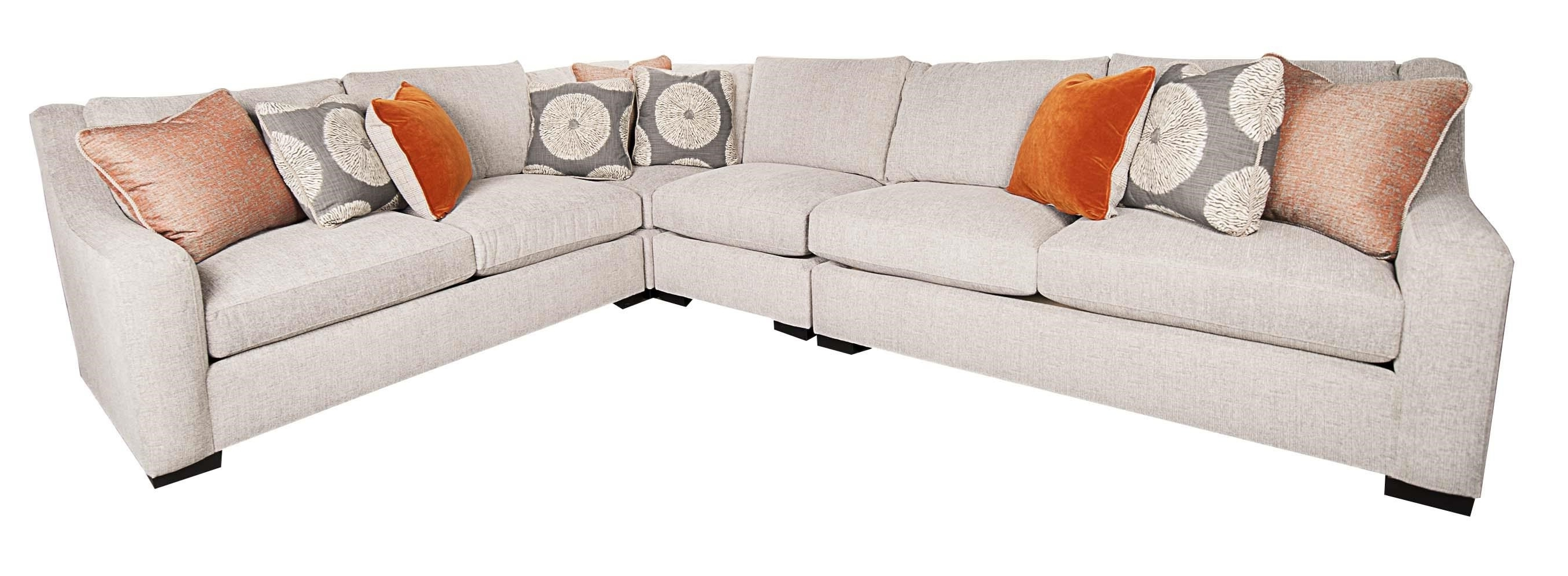Latest Bernhardt Germain 4 Piece Sectional (View 7 of 15)